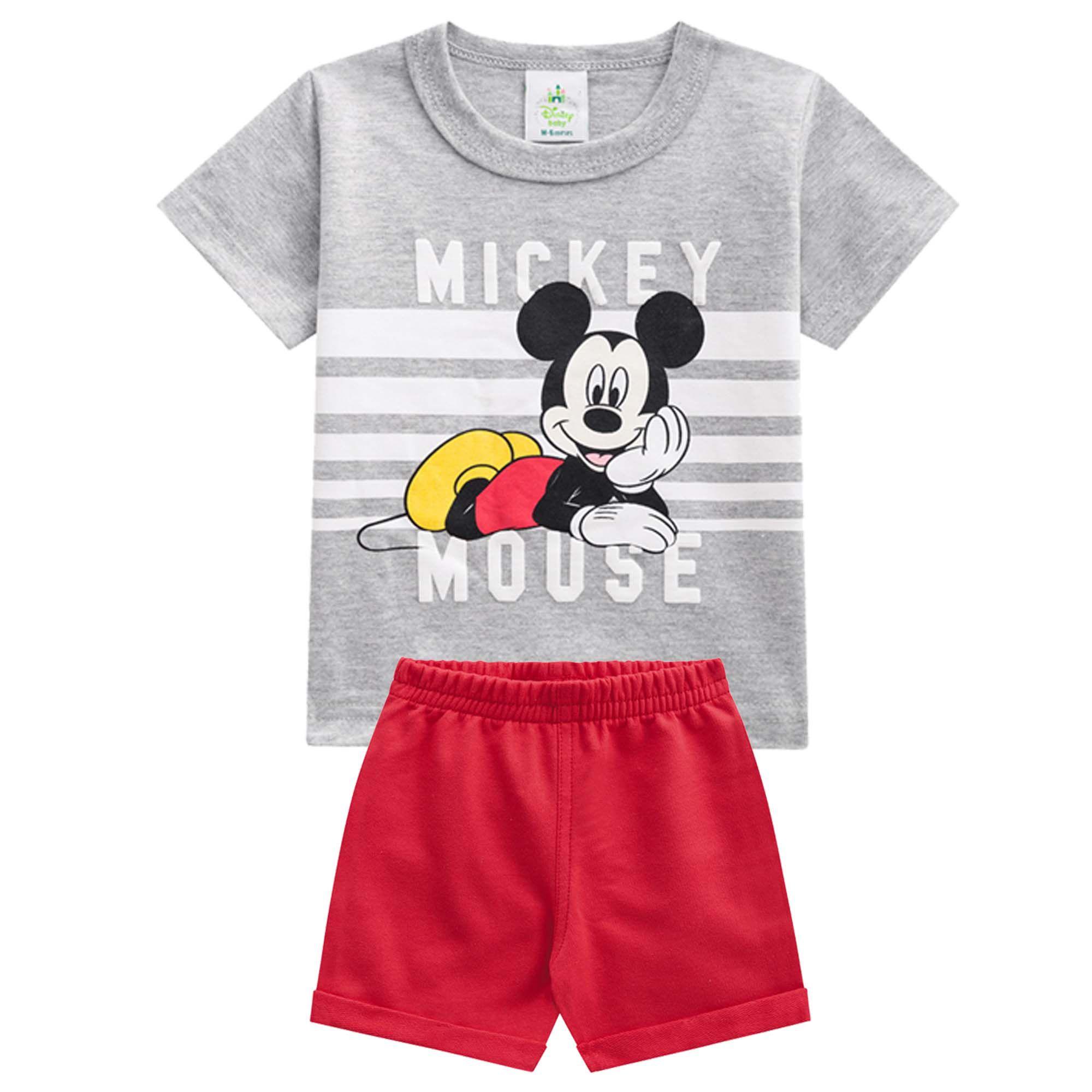 Conjunto Brandili Mickey Mouse - P ao G