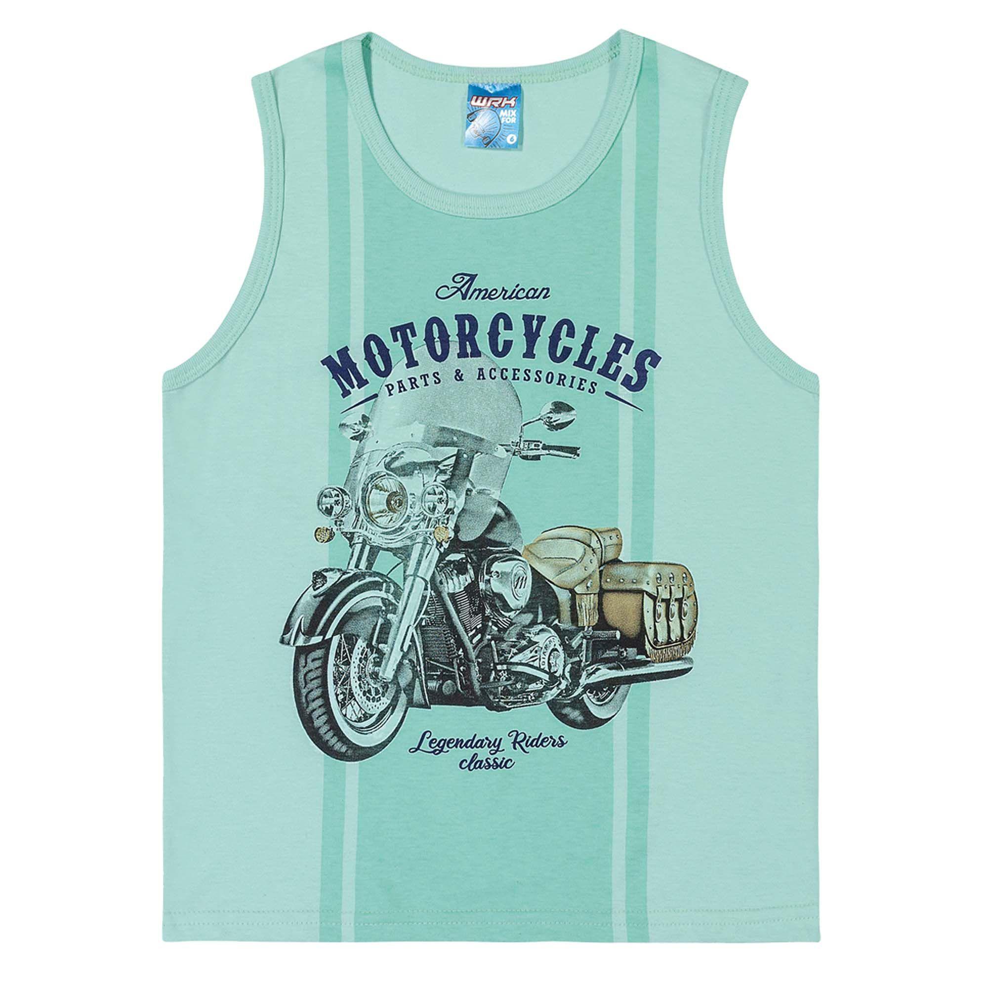 Conjunto Verão Romitex Wyrky Moto - 12 ao 14