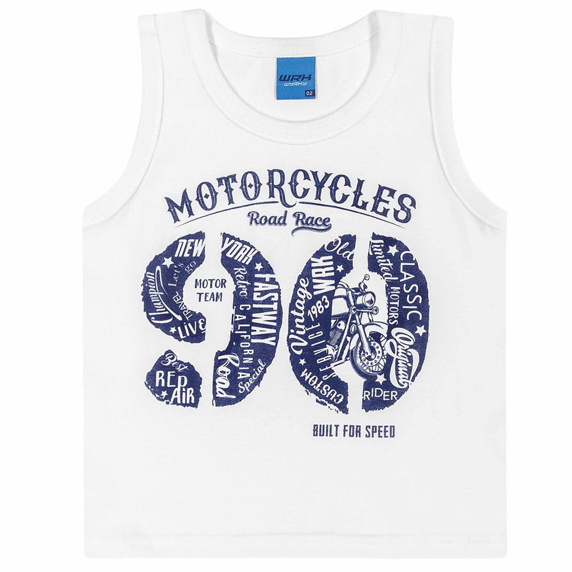 Conjunto Verão Romitex Wyrky Moto 90 - 1 ao 3