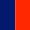 Azul escuro/Vermelho