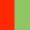 Vermelho/Verde Claro