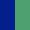 Azul Escuro/Verde