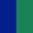 Azul Escuro/Verde Escuro