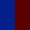 Azul Escuro/Bordo