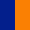 Azul Escuro/Laranja