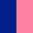 Azul Escuro/Rosa