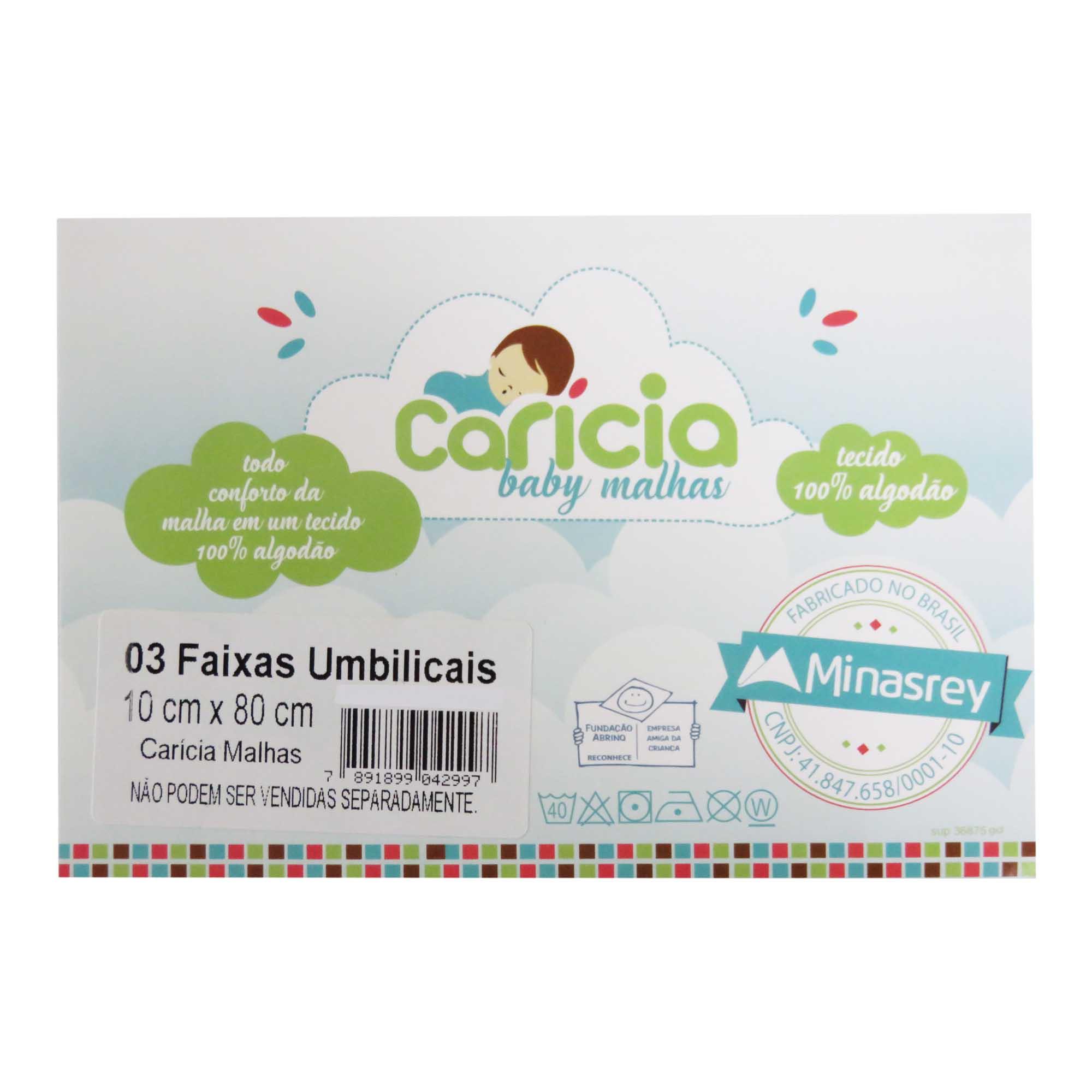 Faixa Umbilical - Minasrey - Carícia Malhas