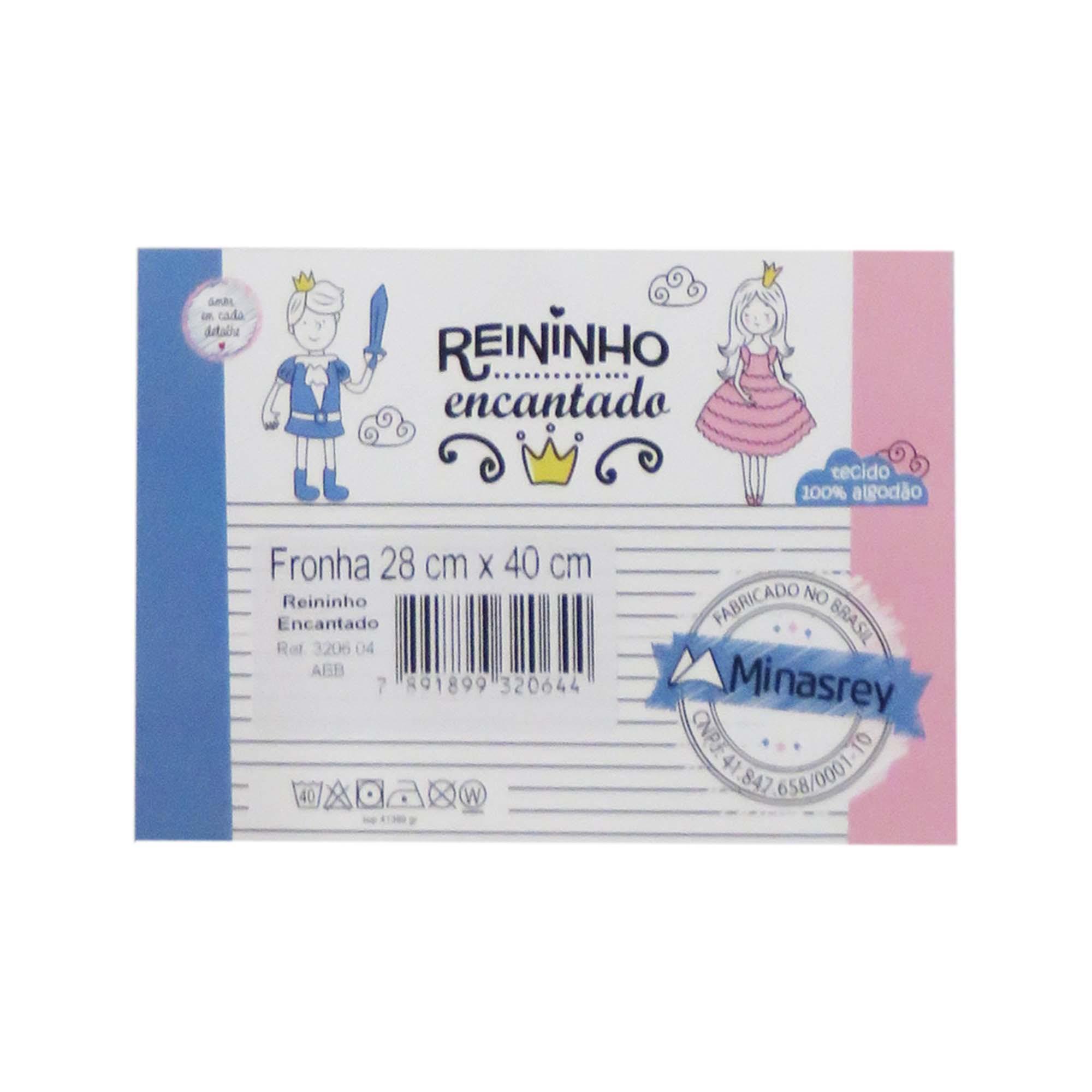 Fronha 28x40 - Minasrey - Reininho Encantado