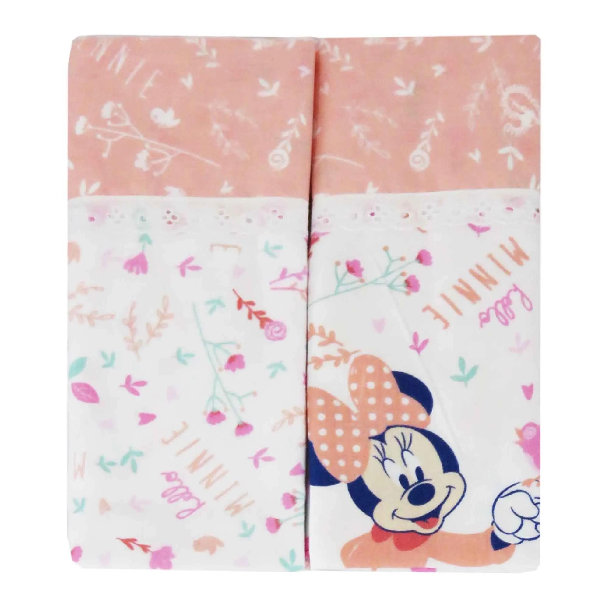 Kit Cueiro Minasrey Disney Duas Unidades Estampado - Minnie