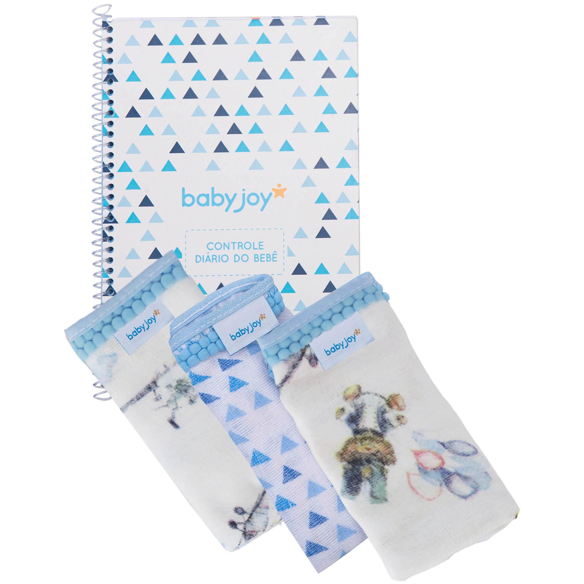 Kit Incomfral Babyjoy - Diário do Bebê