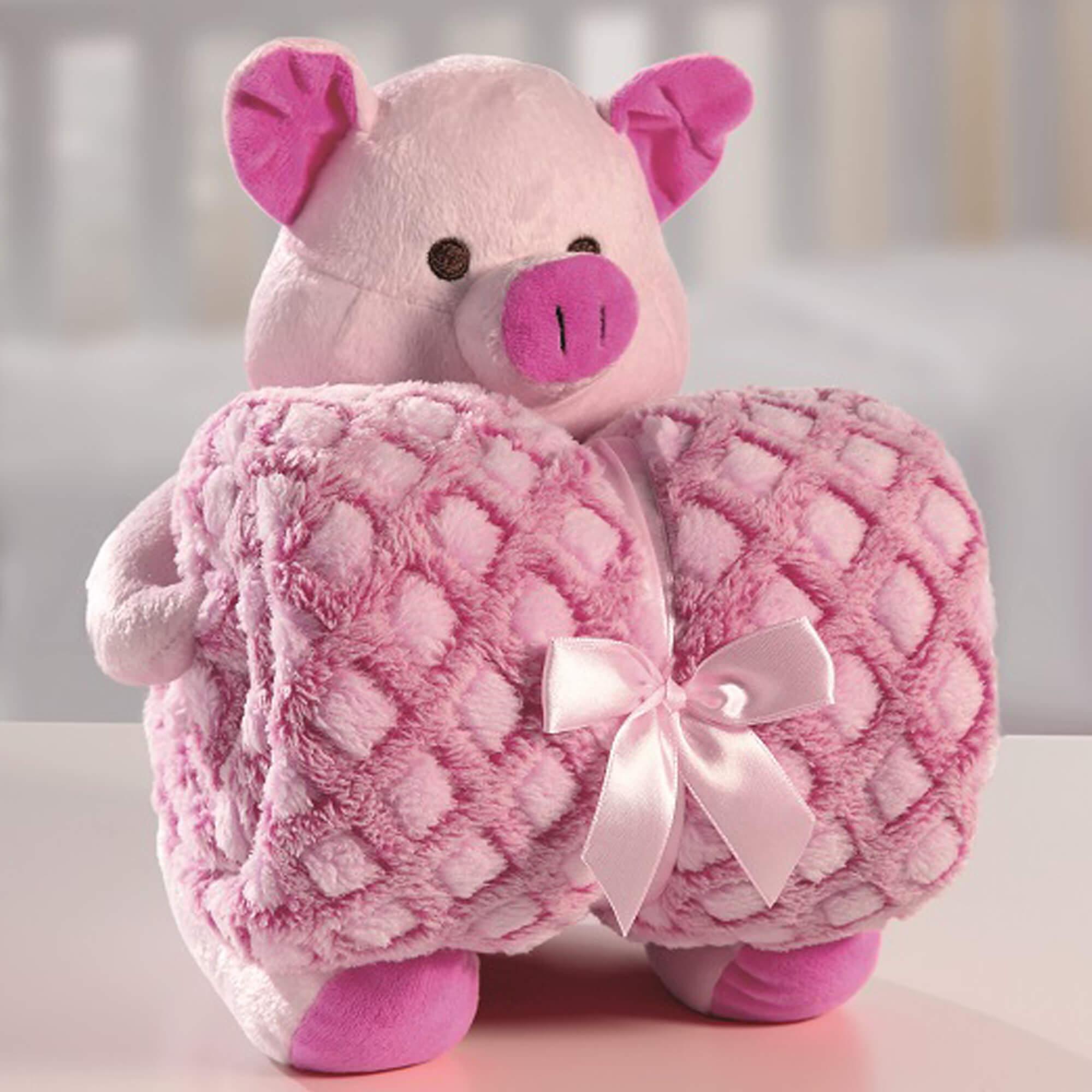 Kit Manta Bouton  – Porco – Rosa