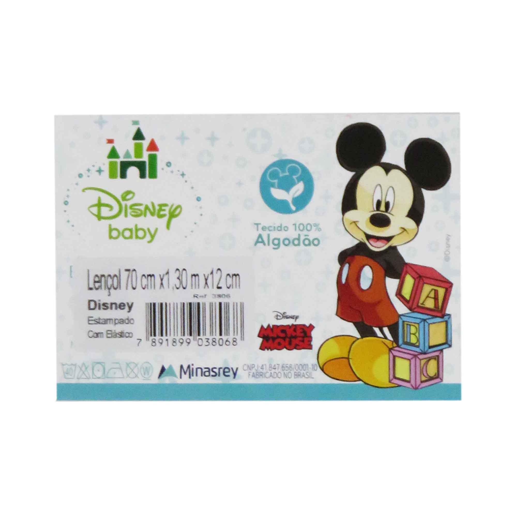 Lençol Minasrey Disney - Mickey