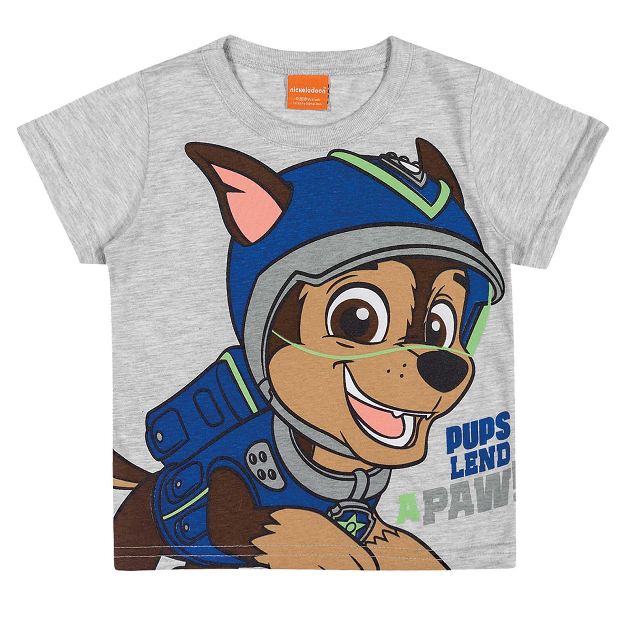 Loungewear Verão Romitex Chase Patrulha Canina - 4 ao 8