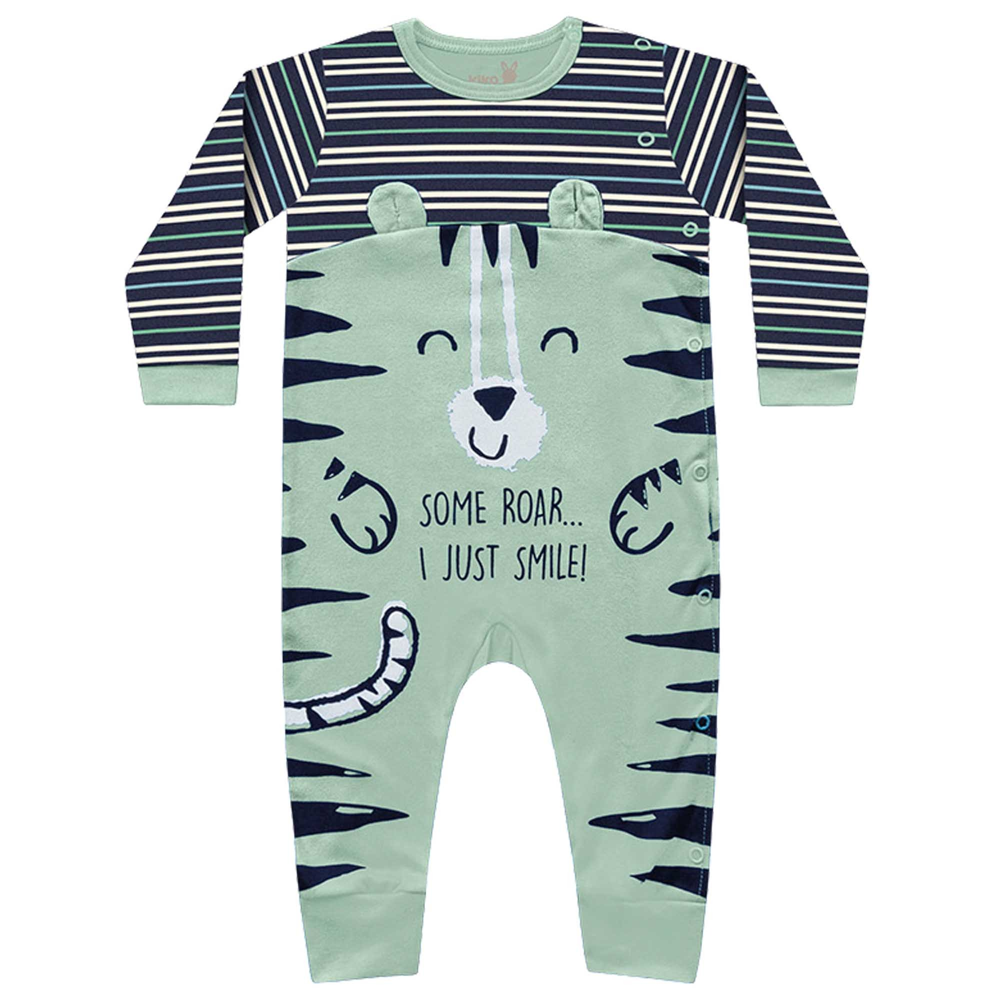 Macacão Inverno Kiko Baby - Tigre - RN ao G