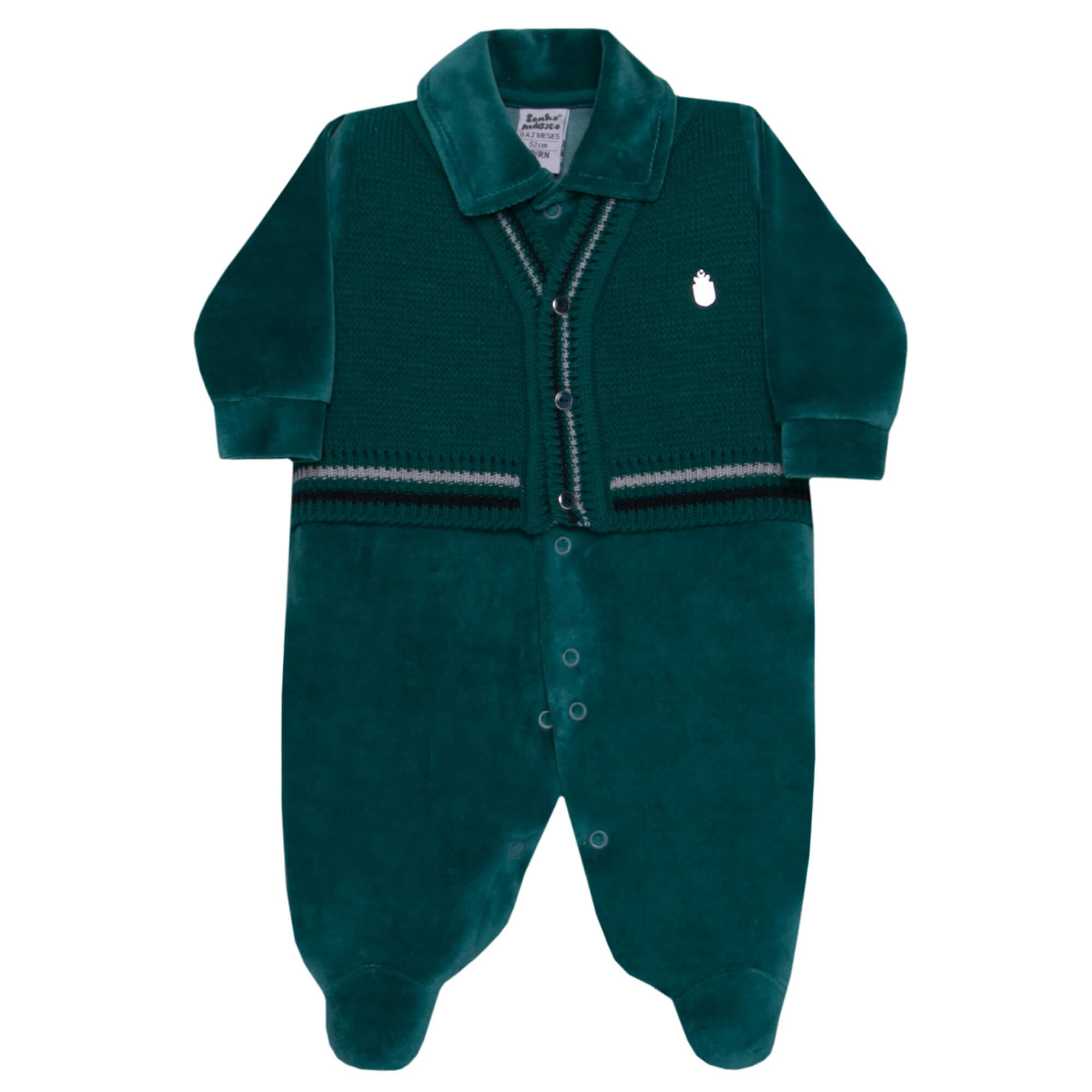 Macacão Inverno Plush Sonho Mágico Knittin Ciclone - PP