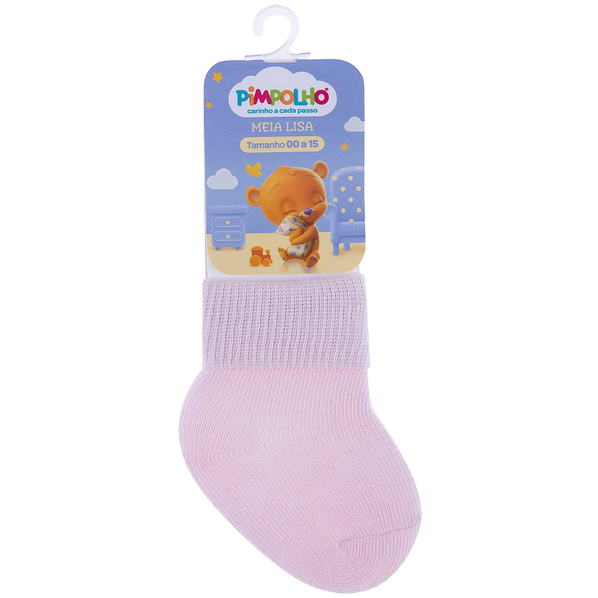 Meia Infantil Pimpolho Lisa - 00 ao 15