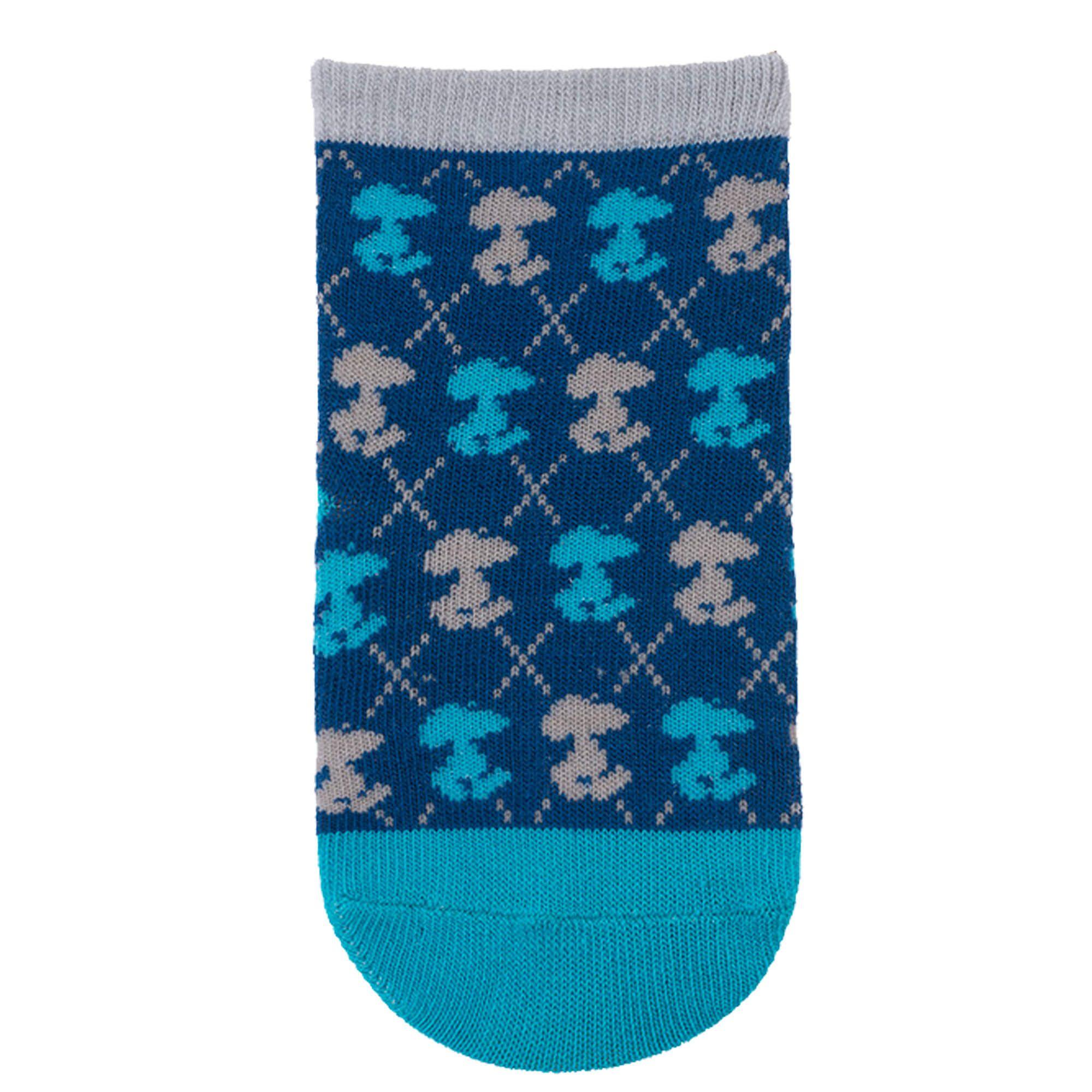 Meia Pimpolho Snoopy Estampada – Azul – 21 a 25