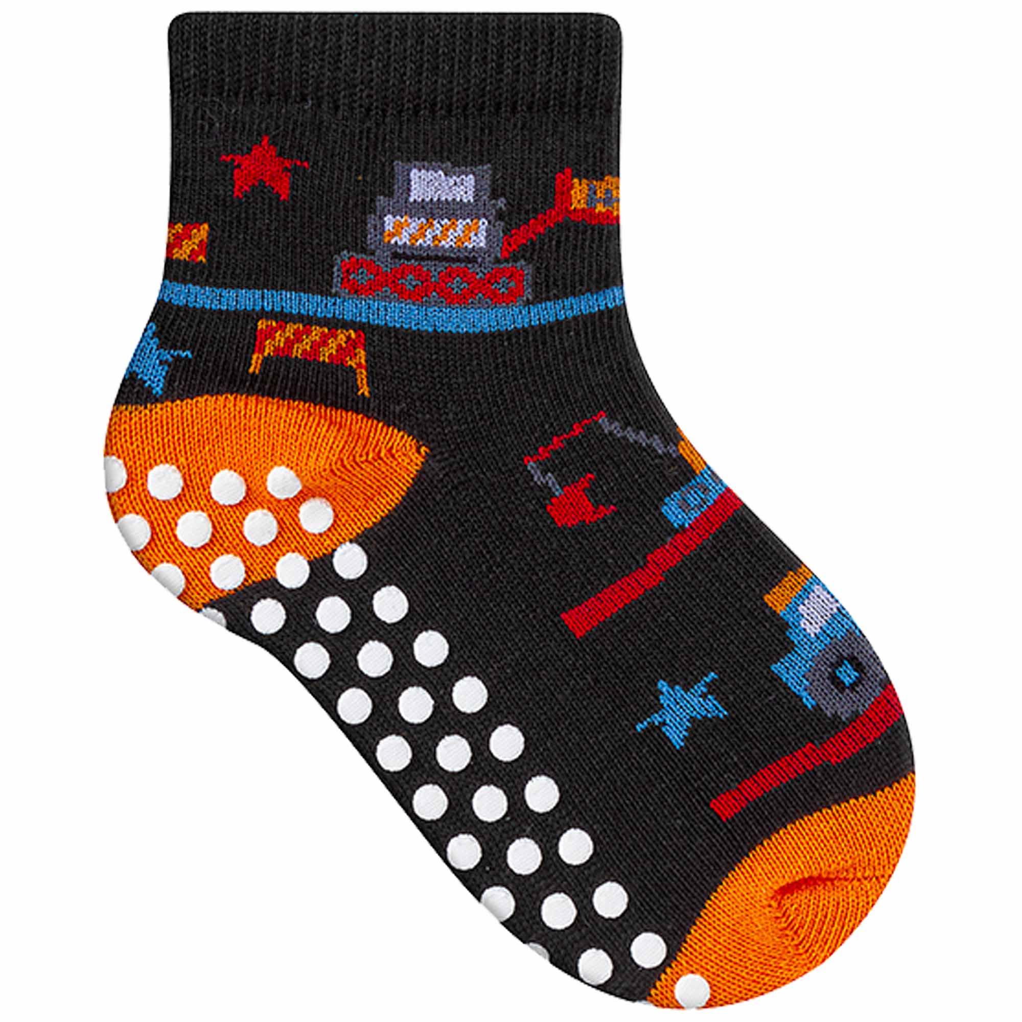 Meia Winston Comfort Socks Baby Bichinhos - Antiderrapante - 16 a 19