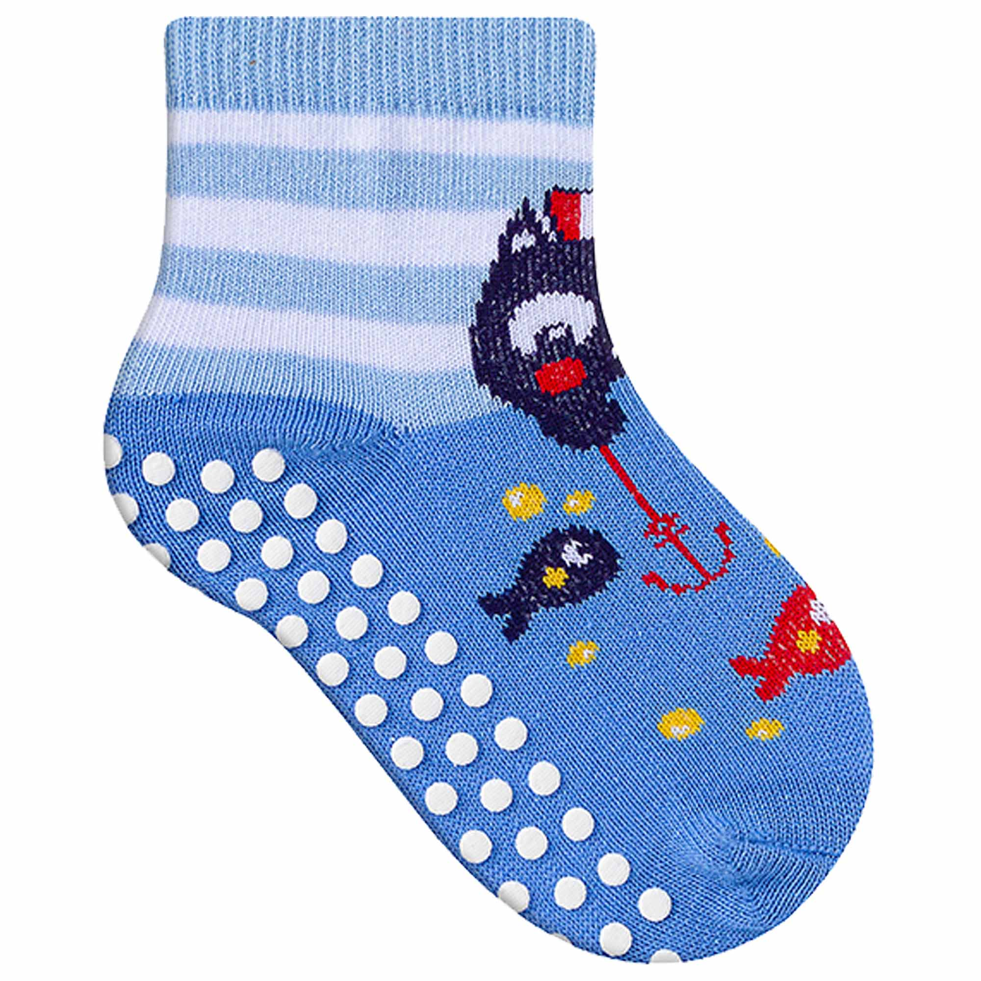 Meia Winston Comfort Socks Baby Bichinhos - Antiderrapante - 20 a 23