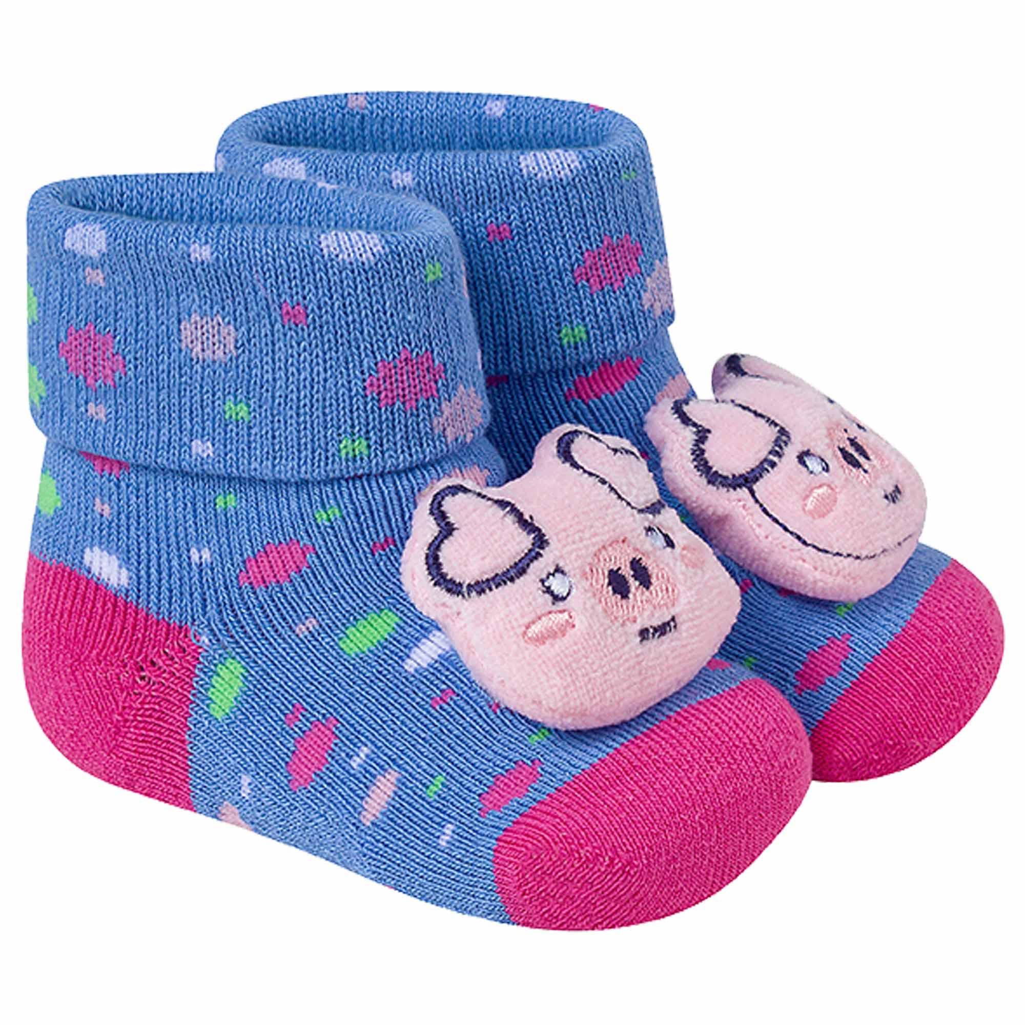 Meia Winston Fun Socks Baby Com Aplique - 16 a 19