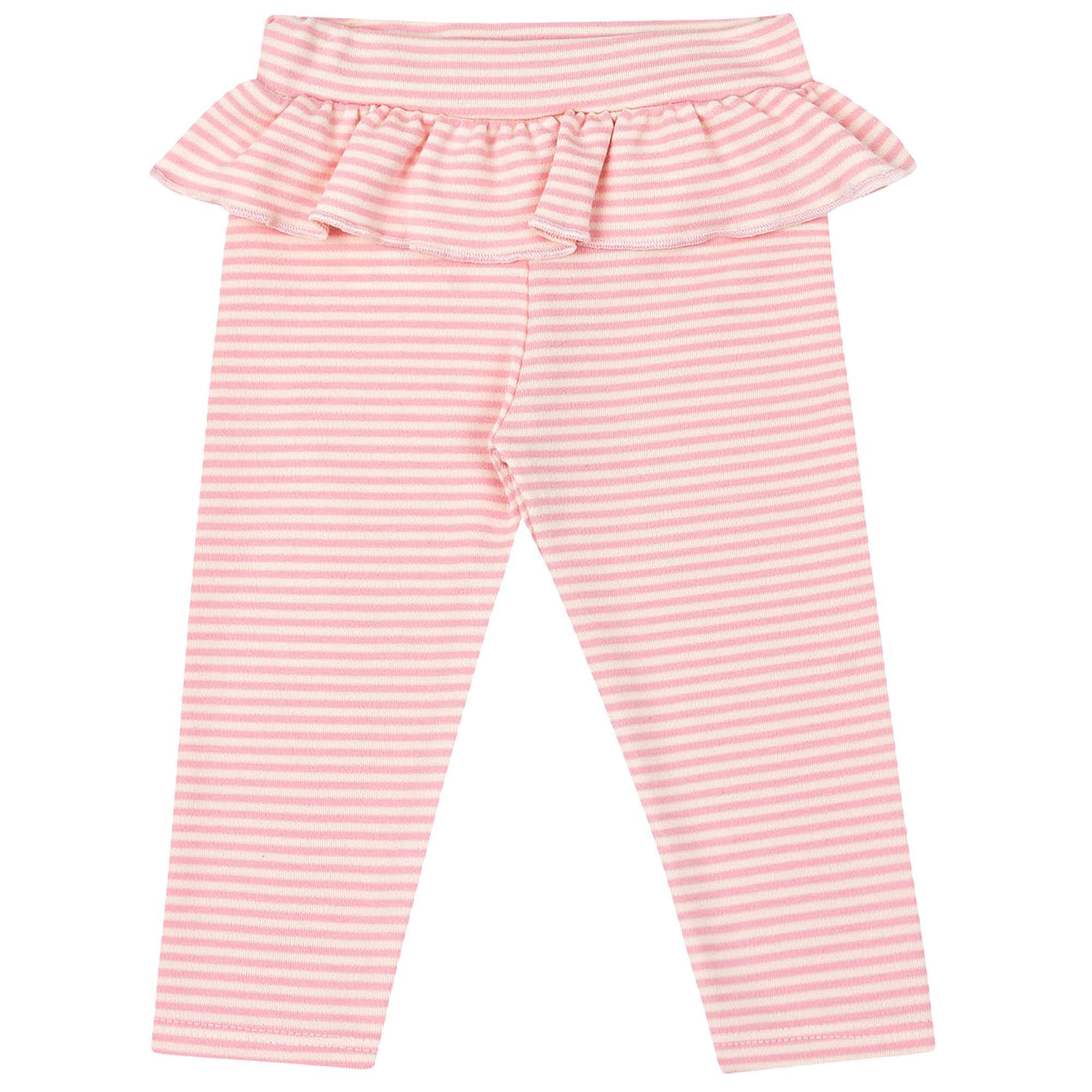 Mijão Sem Pé Kiko Baby Color Listrado com Babado - P ao G