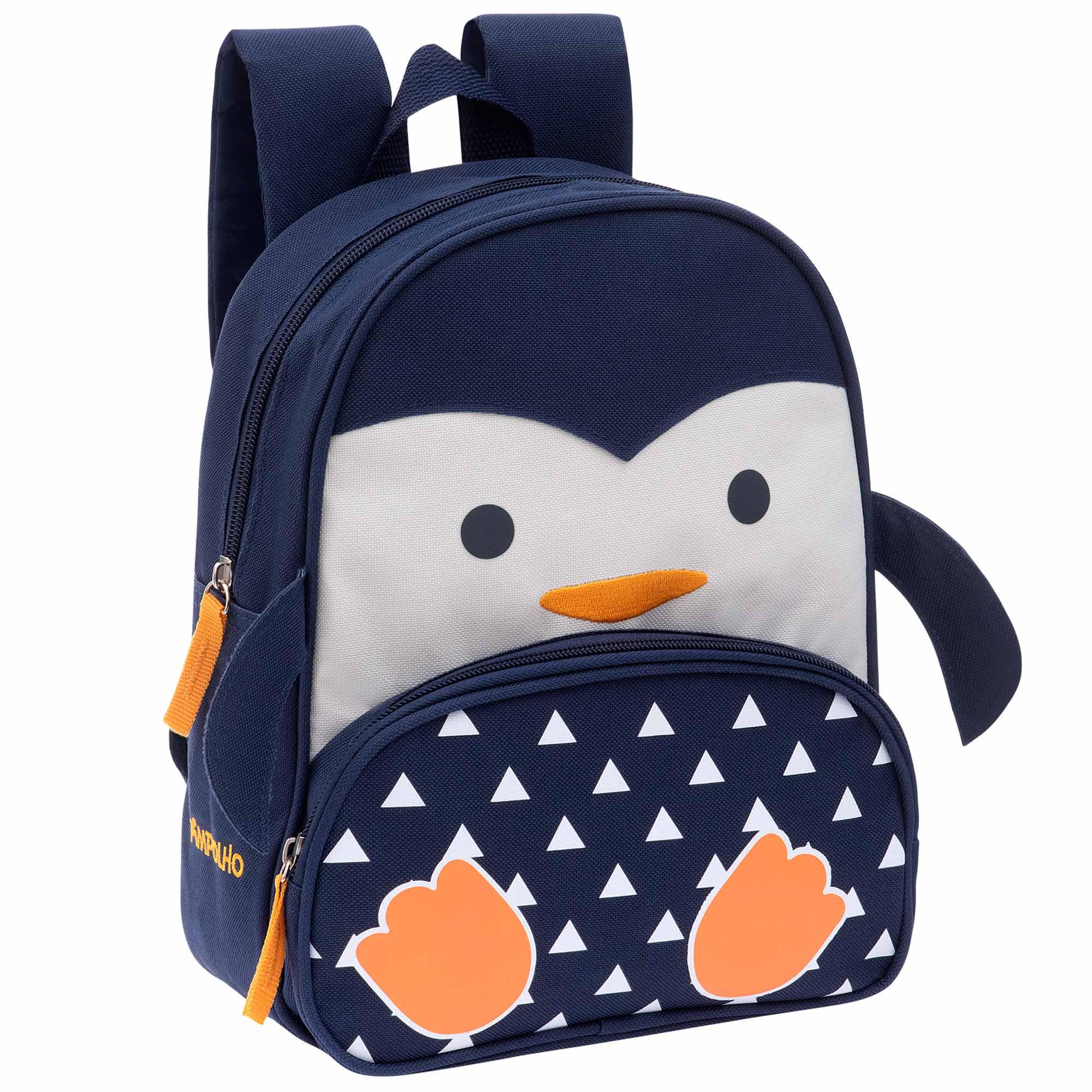 Mochila Pimpolho Bichinhos - Pinguim