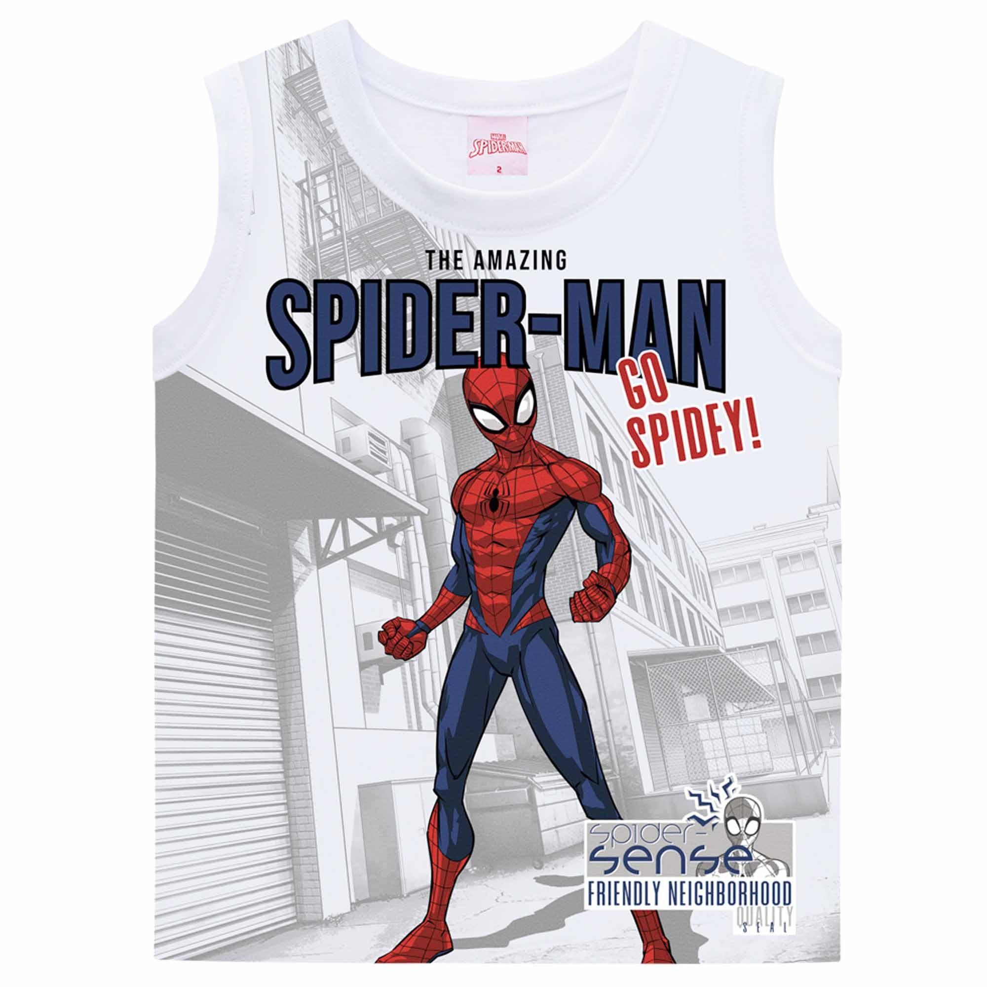 Regata Brandili Homem Aranha - 1 ao 3