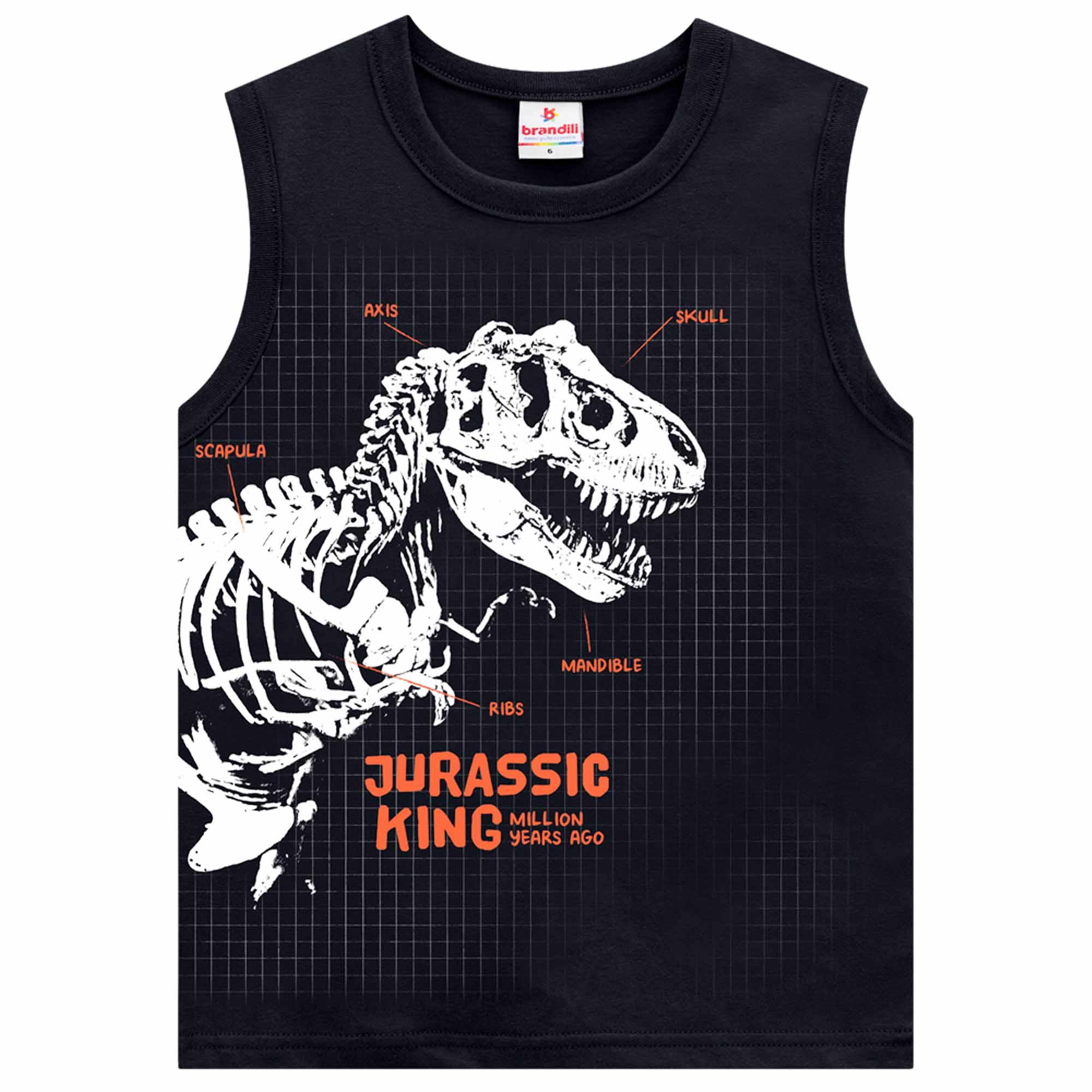 Regata Brandili Jurassic King - 4 ao 10