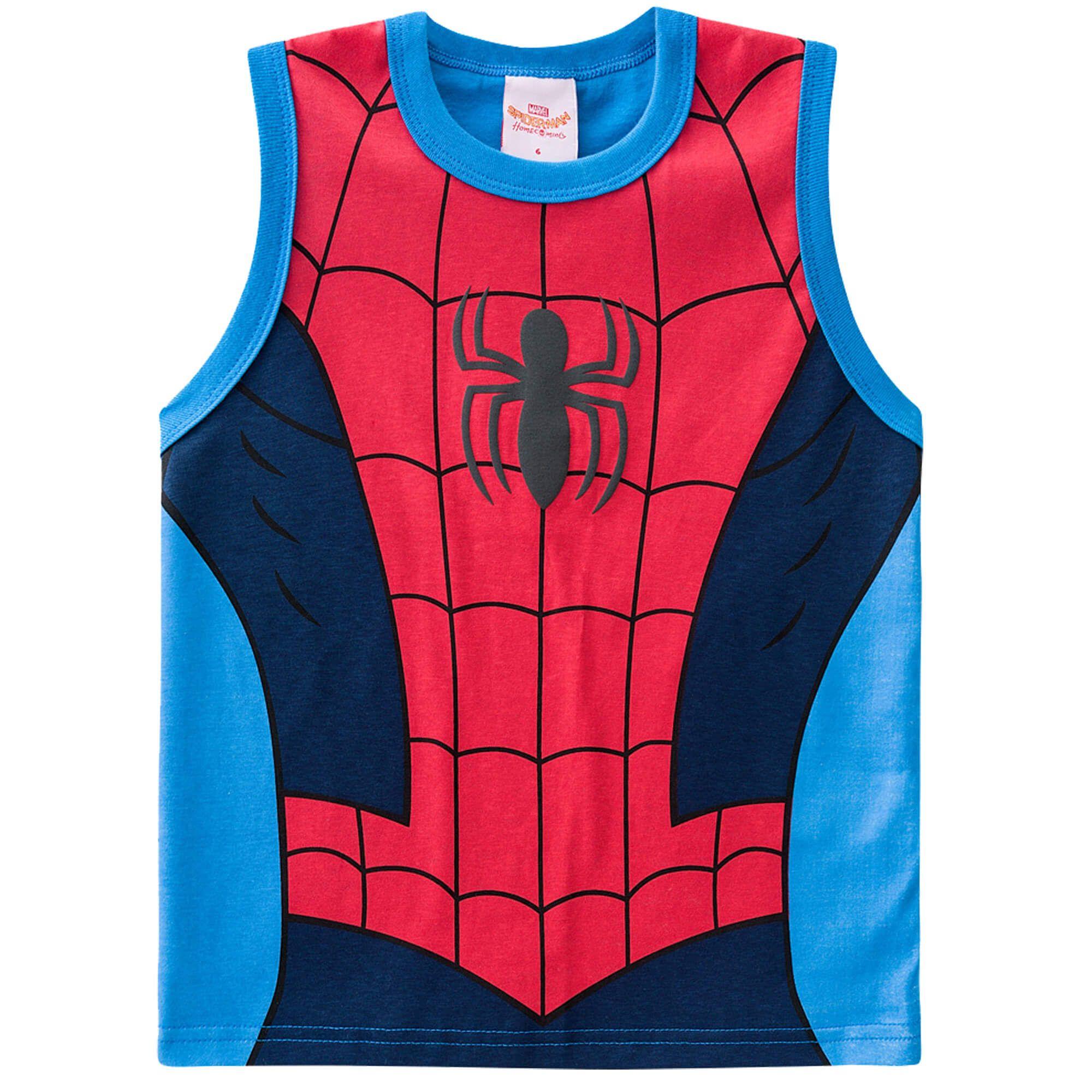 Regata Brandili Homem Aranha - 01 ao 03