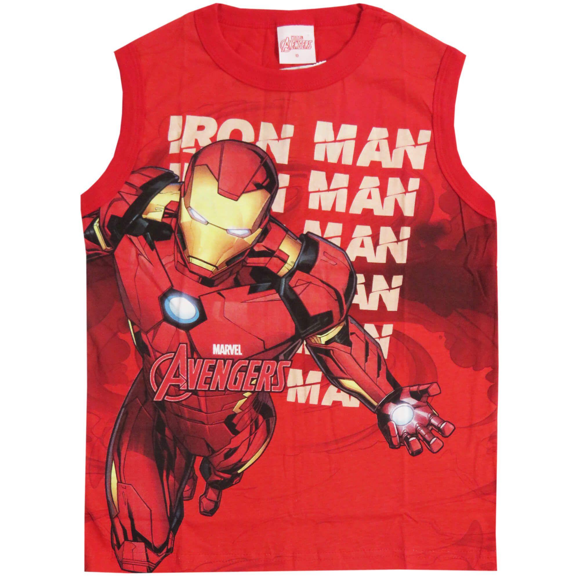 Regata Brandili Vingadores Homem de Ferro - 4 ao 10