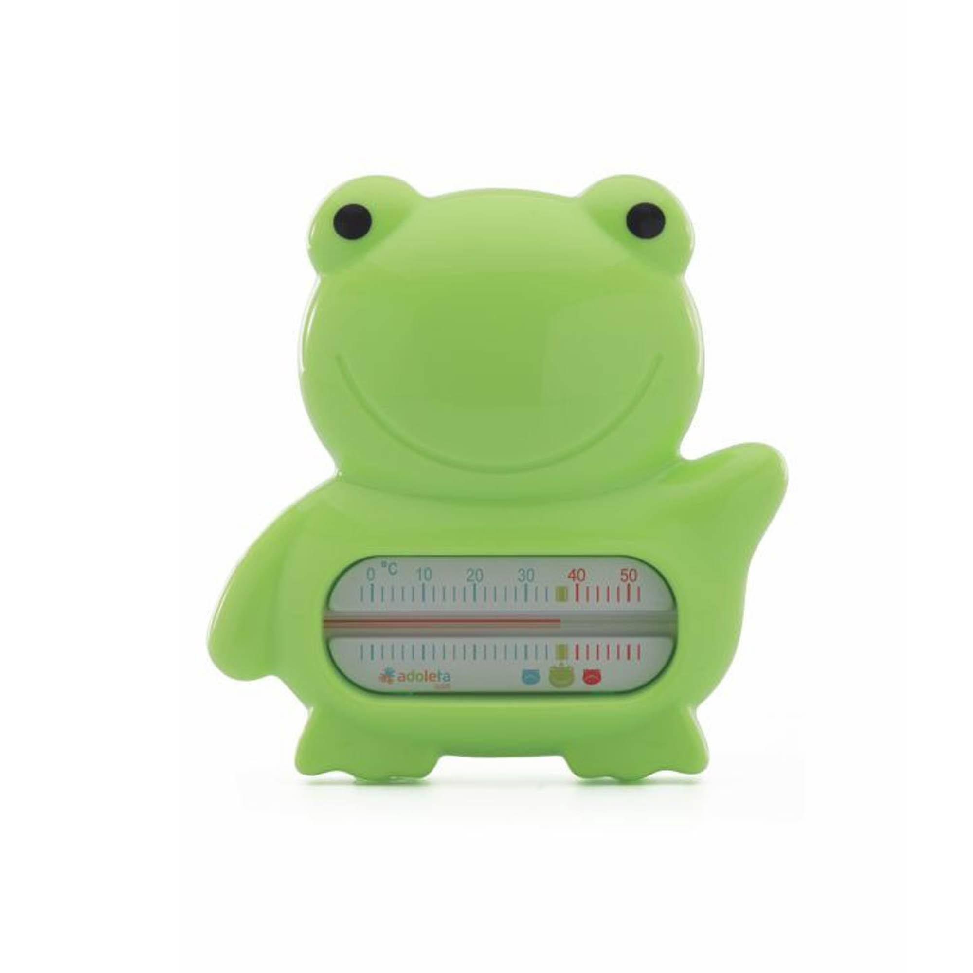 Termômetro para Banheira Cajovil Adoleta - Sapinho - Verde Claro