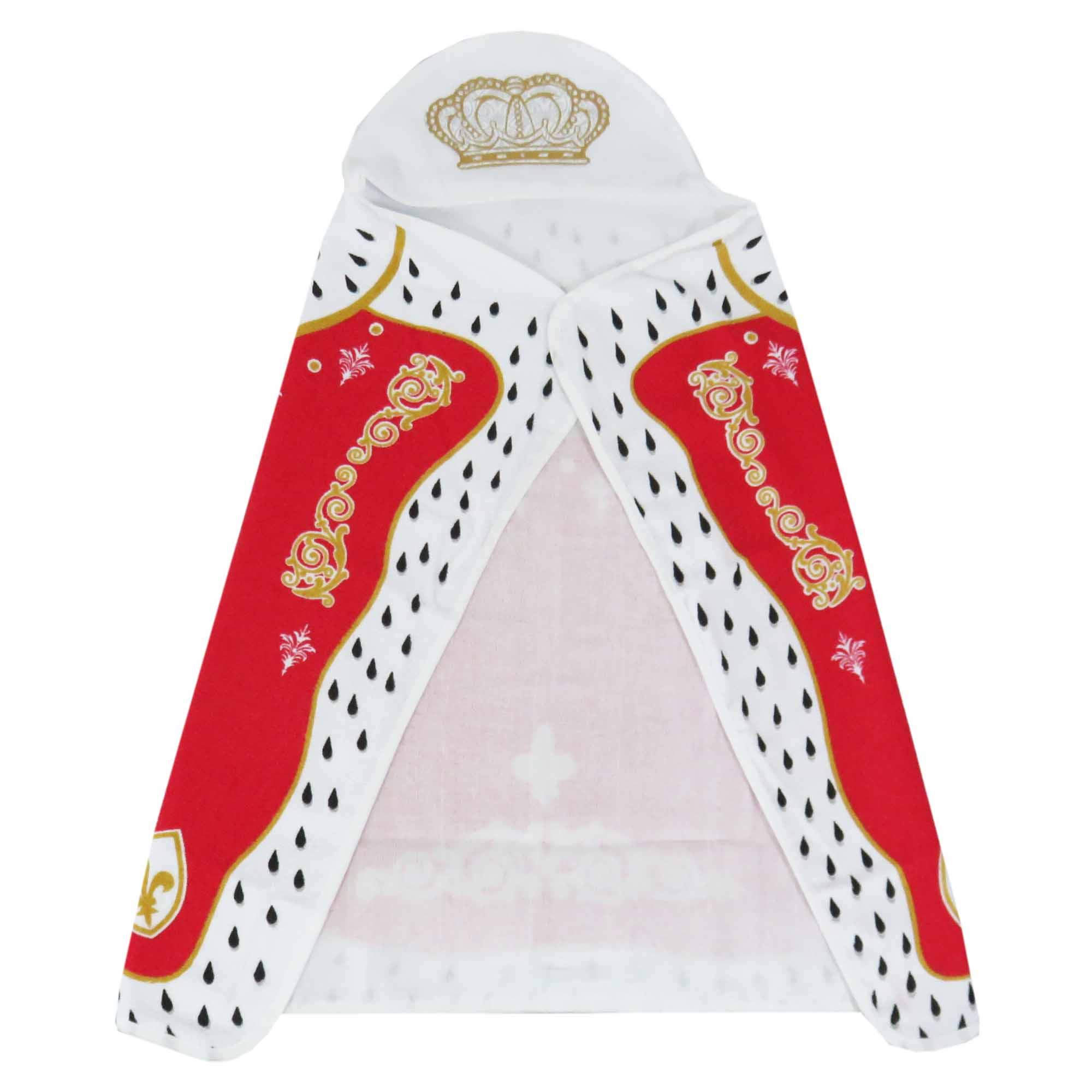 Toalha  de Banho Capa Príncipe e Princesa - Minasrey - Reininho