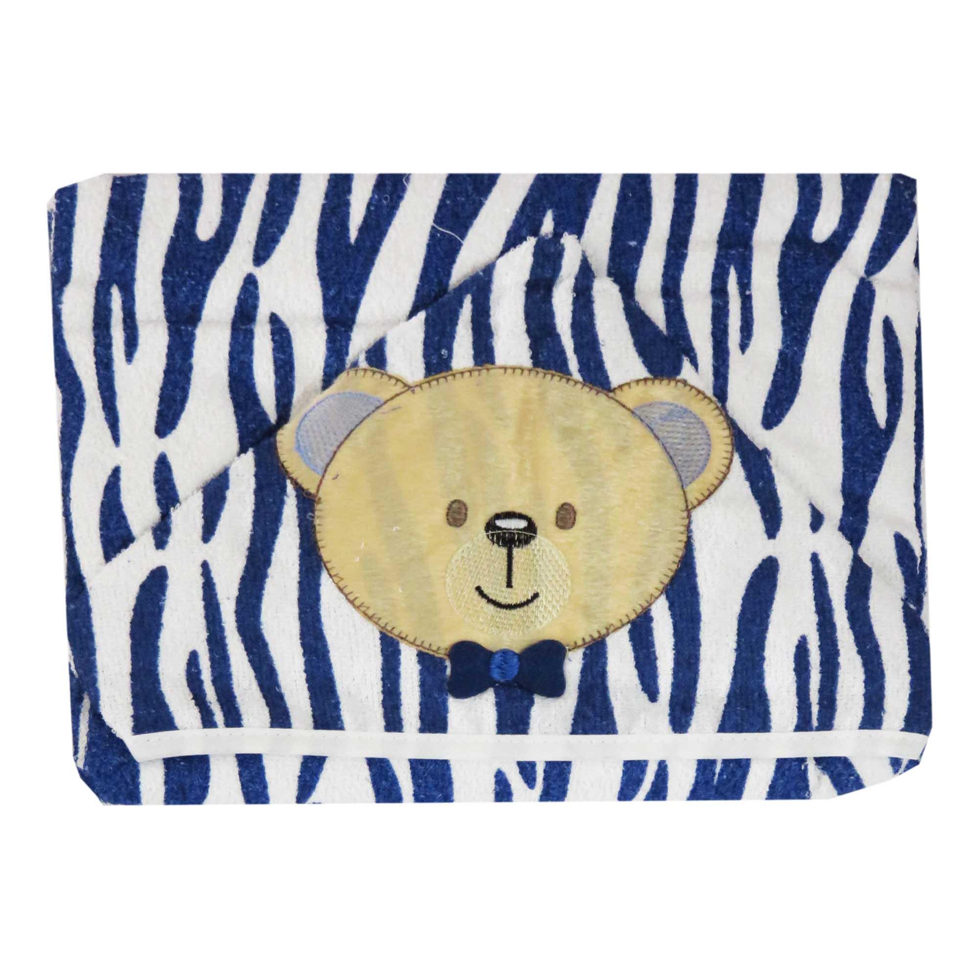 Toalha de Banho com Capuz com Forro Fralda - Incomfral - Bambi - Urso