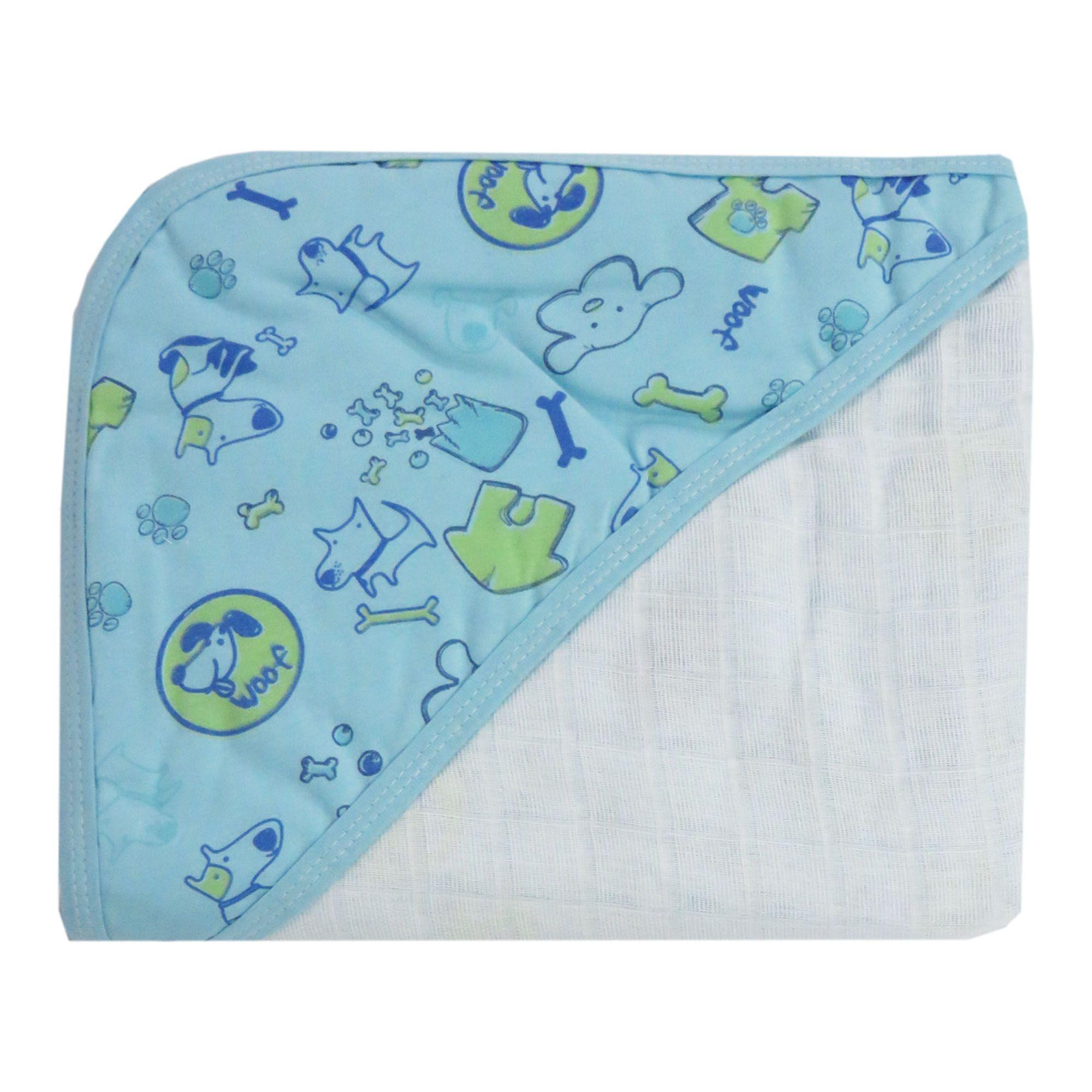 Toalha de Banho - Minasrey - Carícia Malhas - Azul