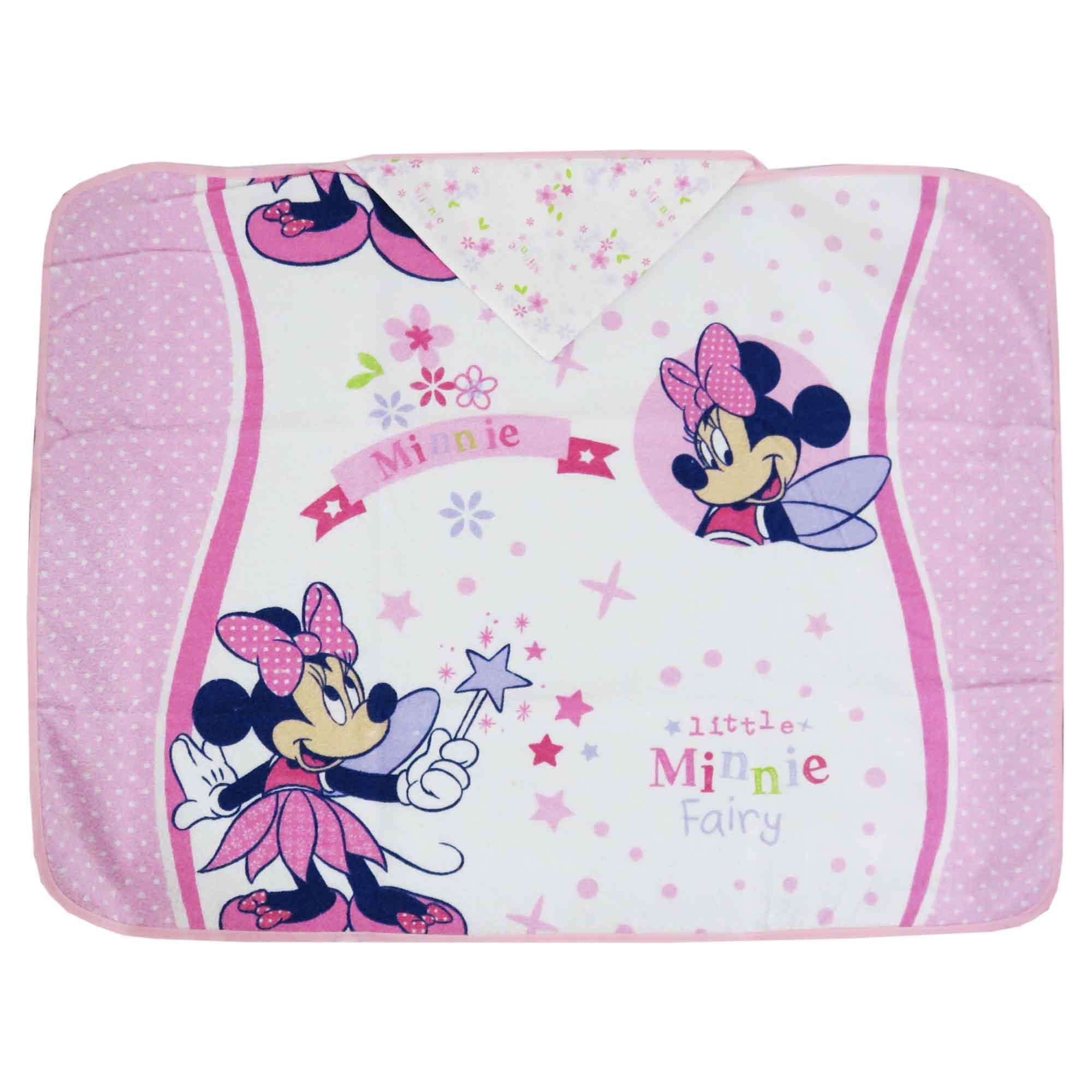 Toalha Estampada Minasrey Disney Com Forro em Fralda - Minnie