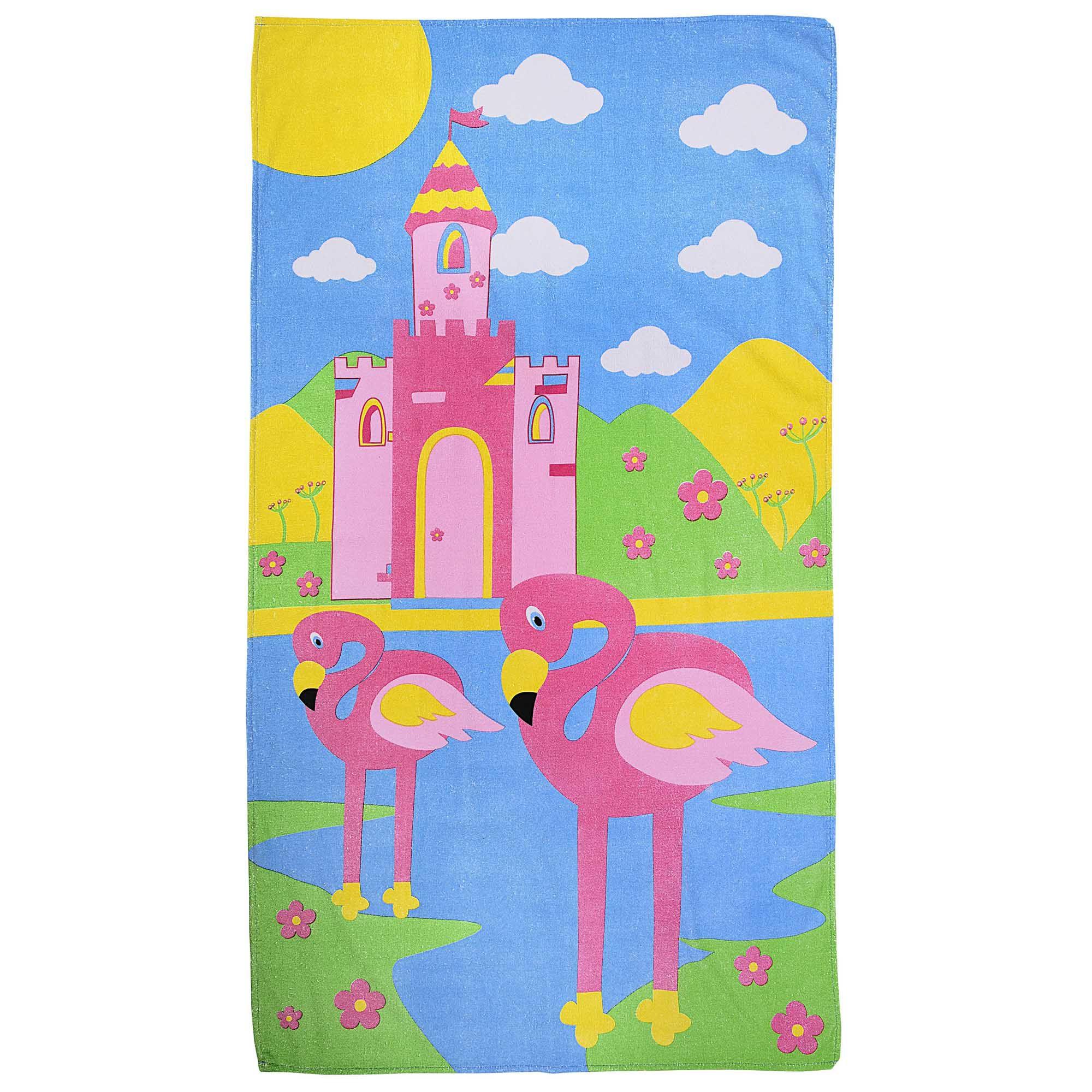 Toalha Kids Incomfral Bambi - Flamingo