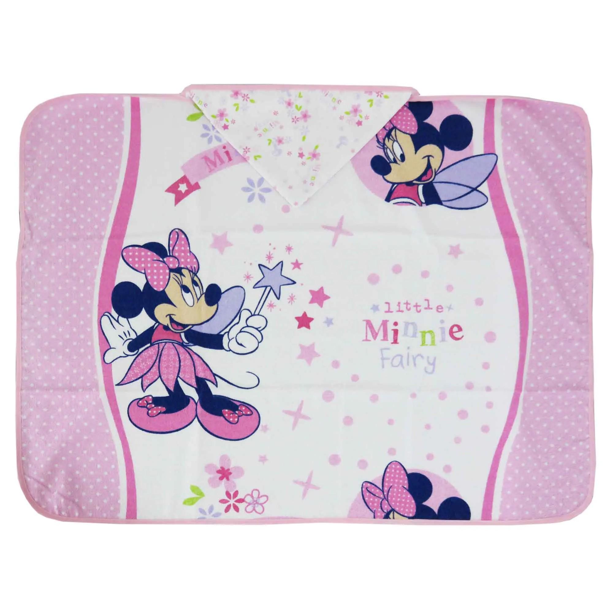 Toalha Minasrey Disney Aventura Flores - Minnie Fada