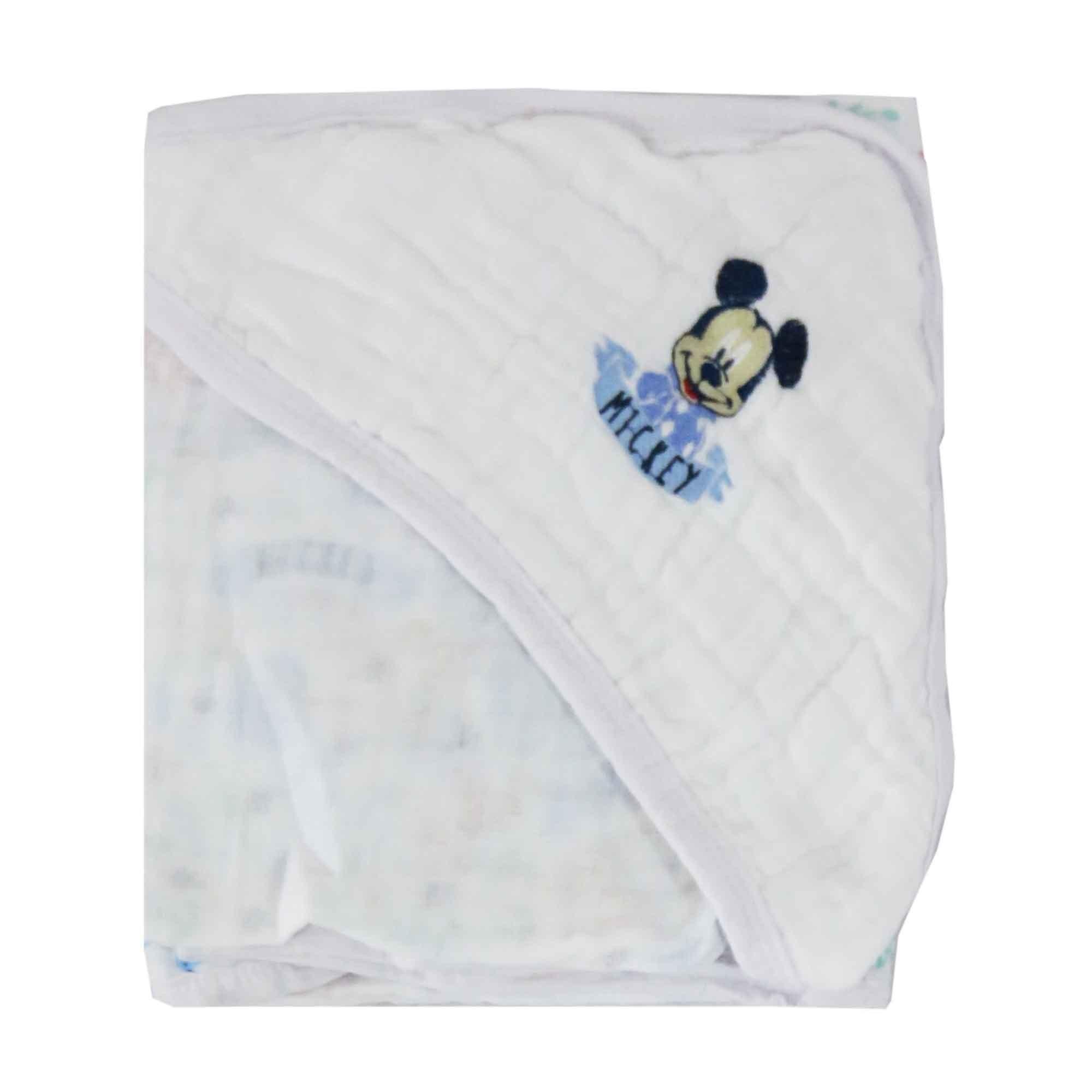 Toalha Soft Minasrey Disney Bordada Com Capuz - Mickey