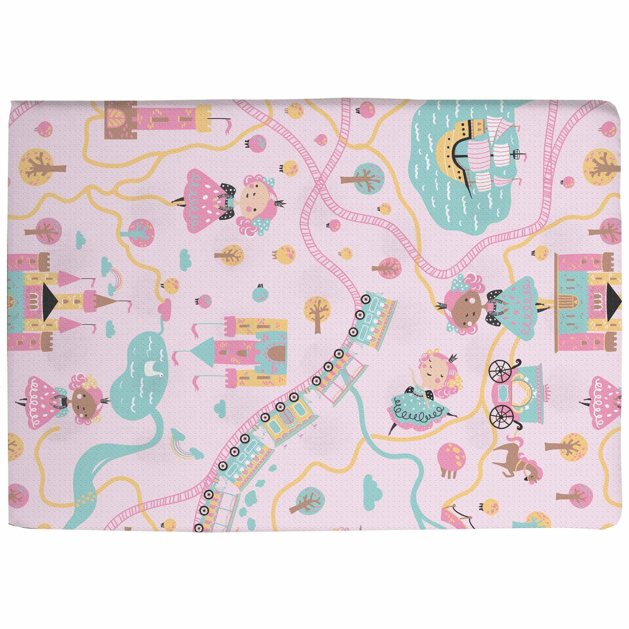 Travesseiro Antissufocante Estampado - Incomfral - Bambi - Princesa e Castelo