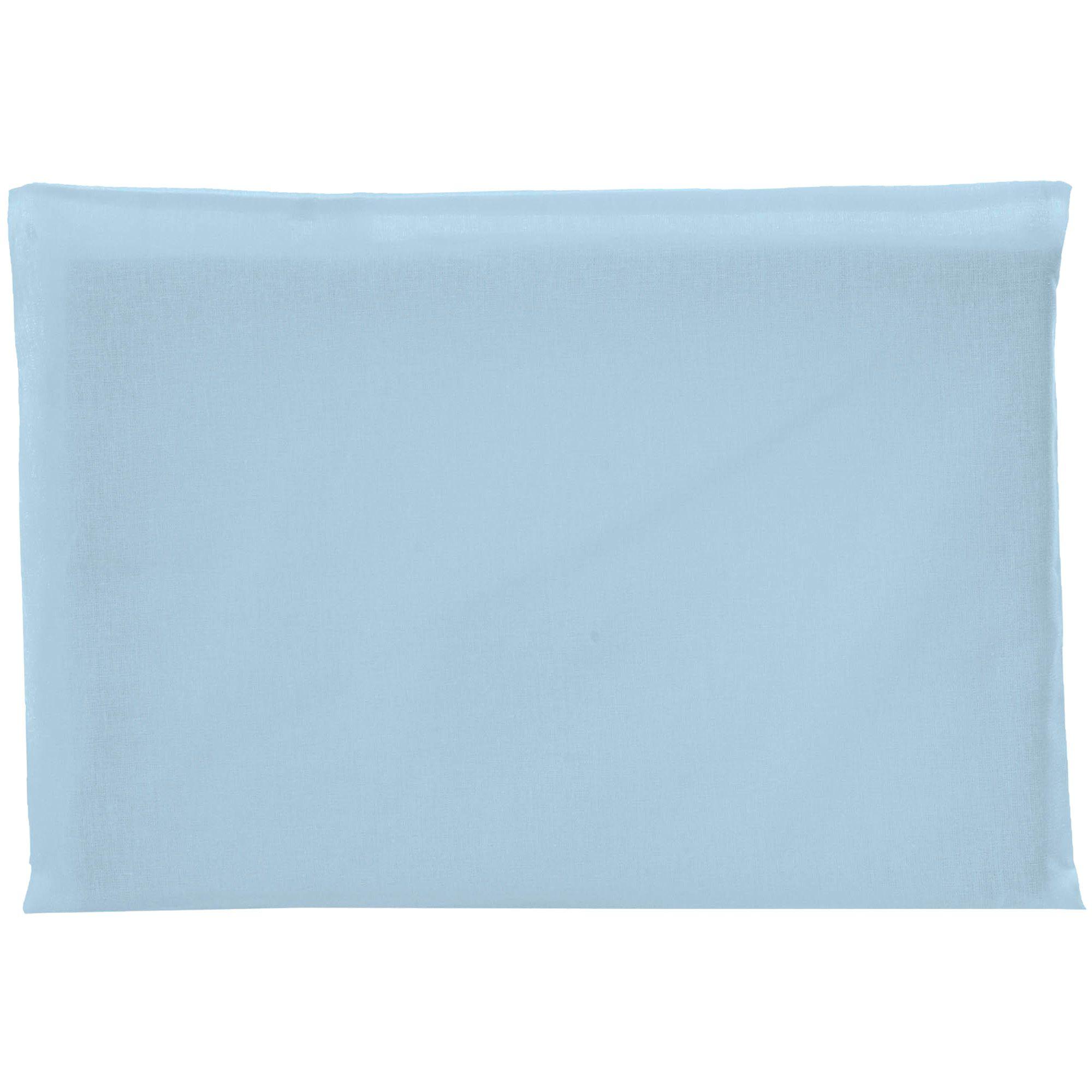Travesseiro Antissufocante Incomfral Bambi - Liso - Azul Claro