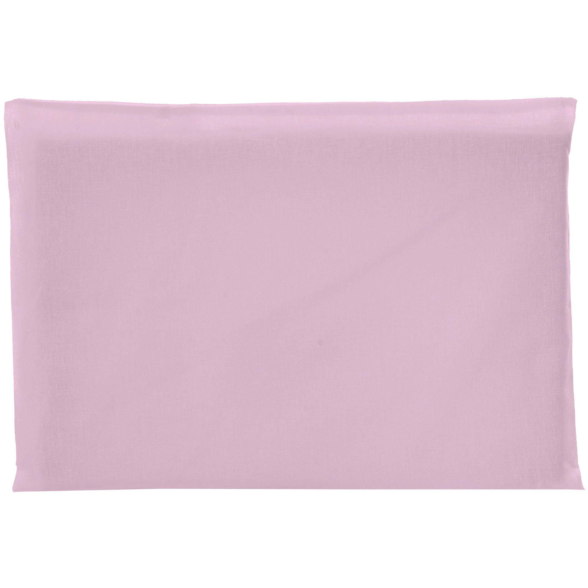 Travesseiro Antissufocante Incomfral Bambi - Liso - Rosa Claro