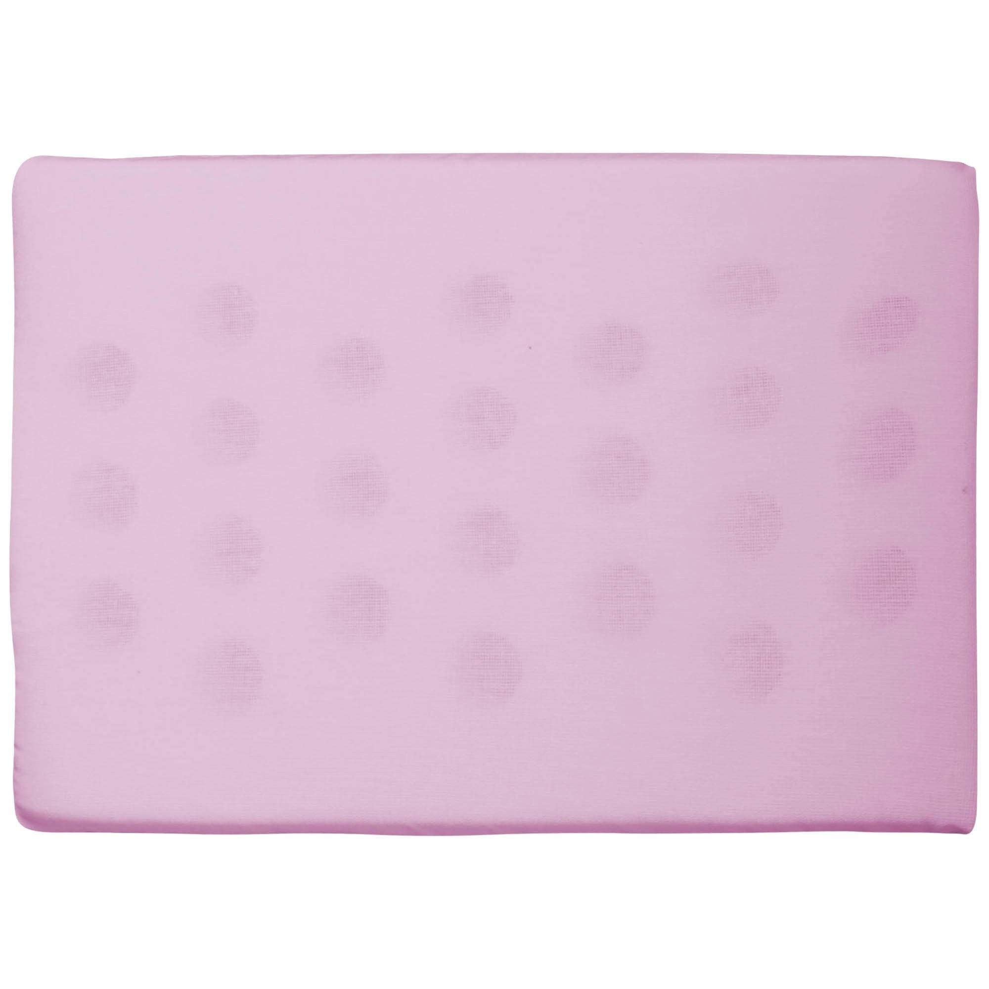 Travesseiro Antissufocante Liso - Incomfral - Bambi - Rosa