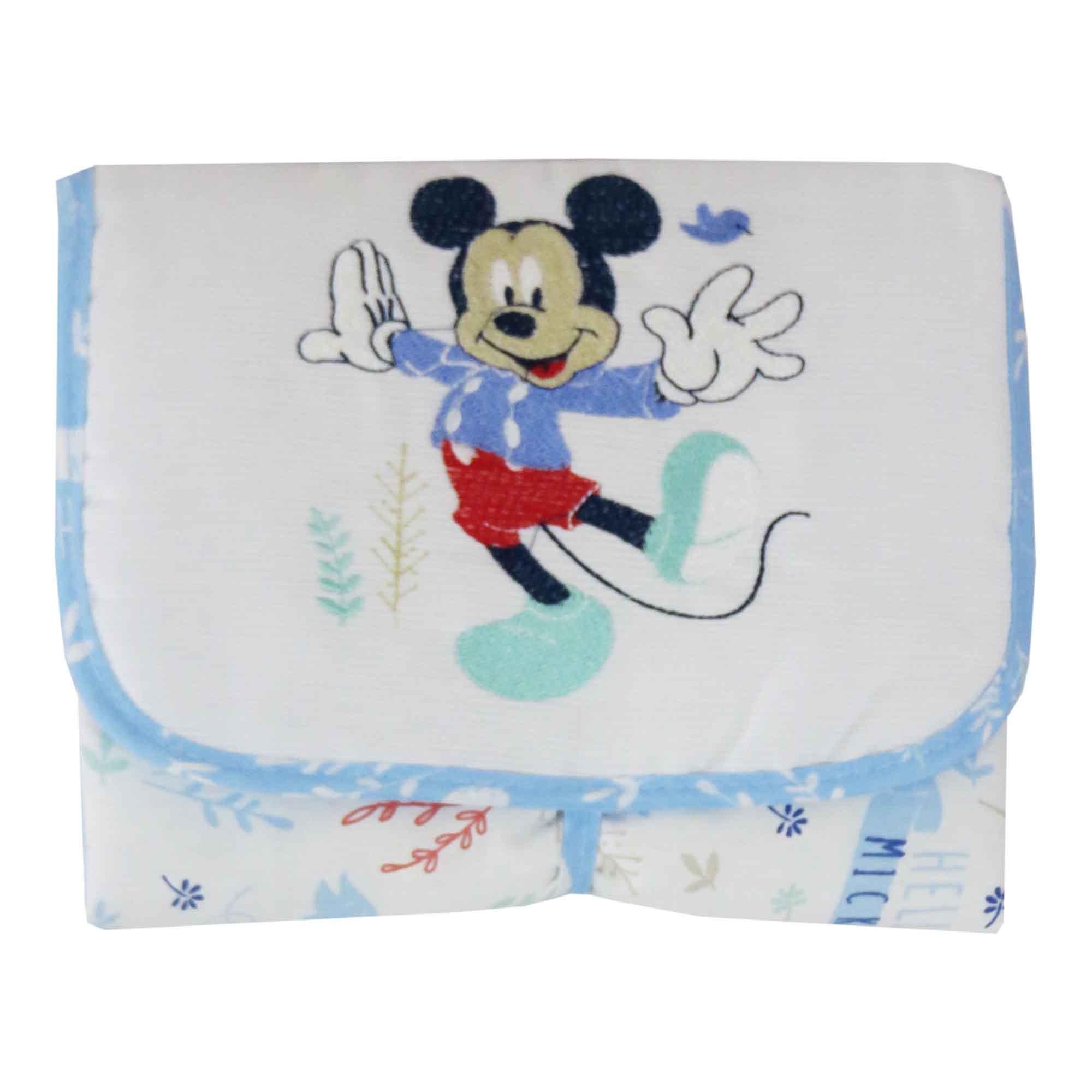 Trocador Portátil Minasrey Disney Bordado - Mickey
