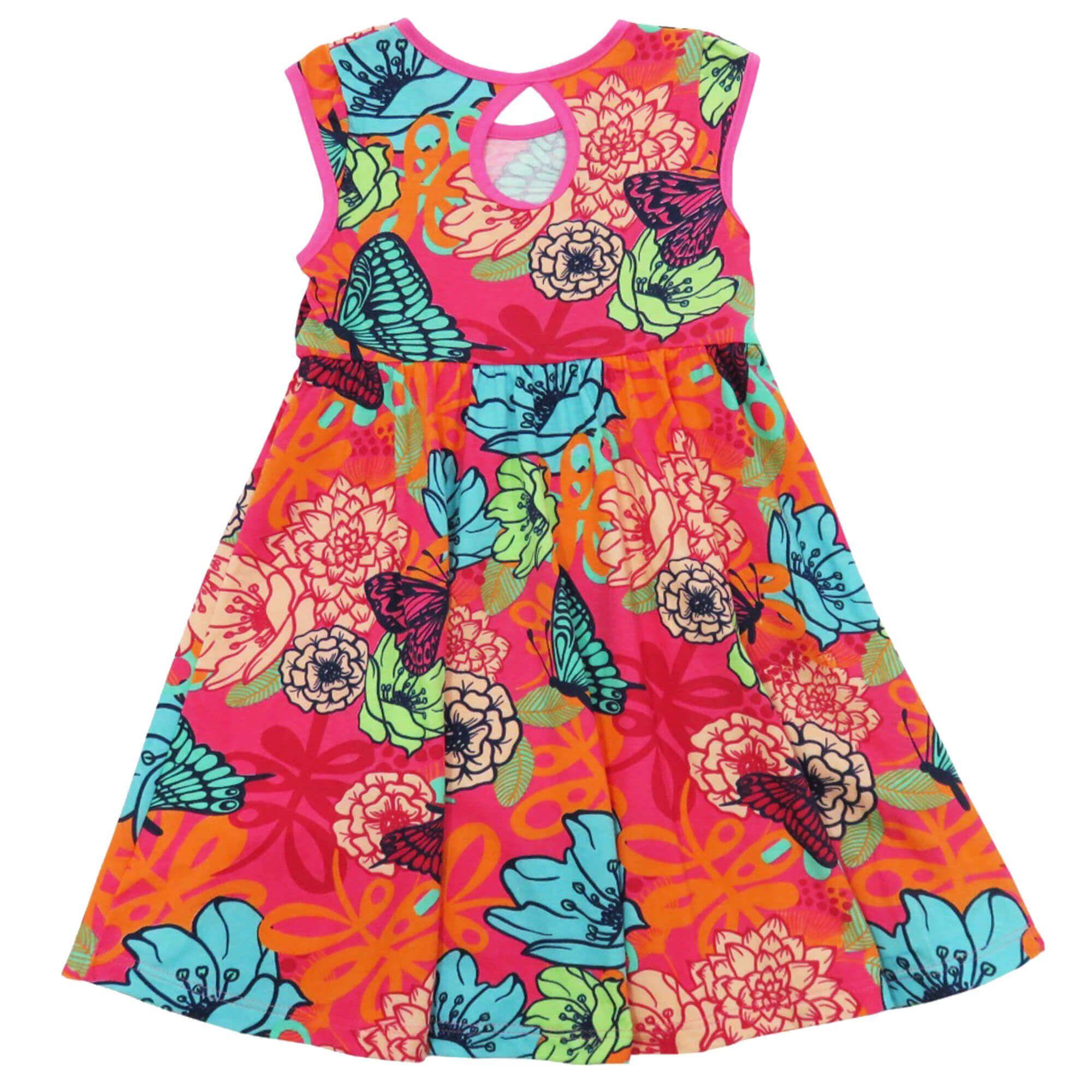 Vestido Verão Lunelli - Alakazoo Saia Evasê - 4 ao 10