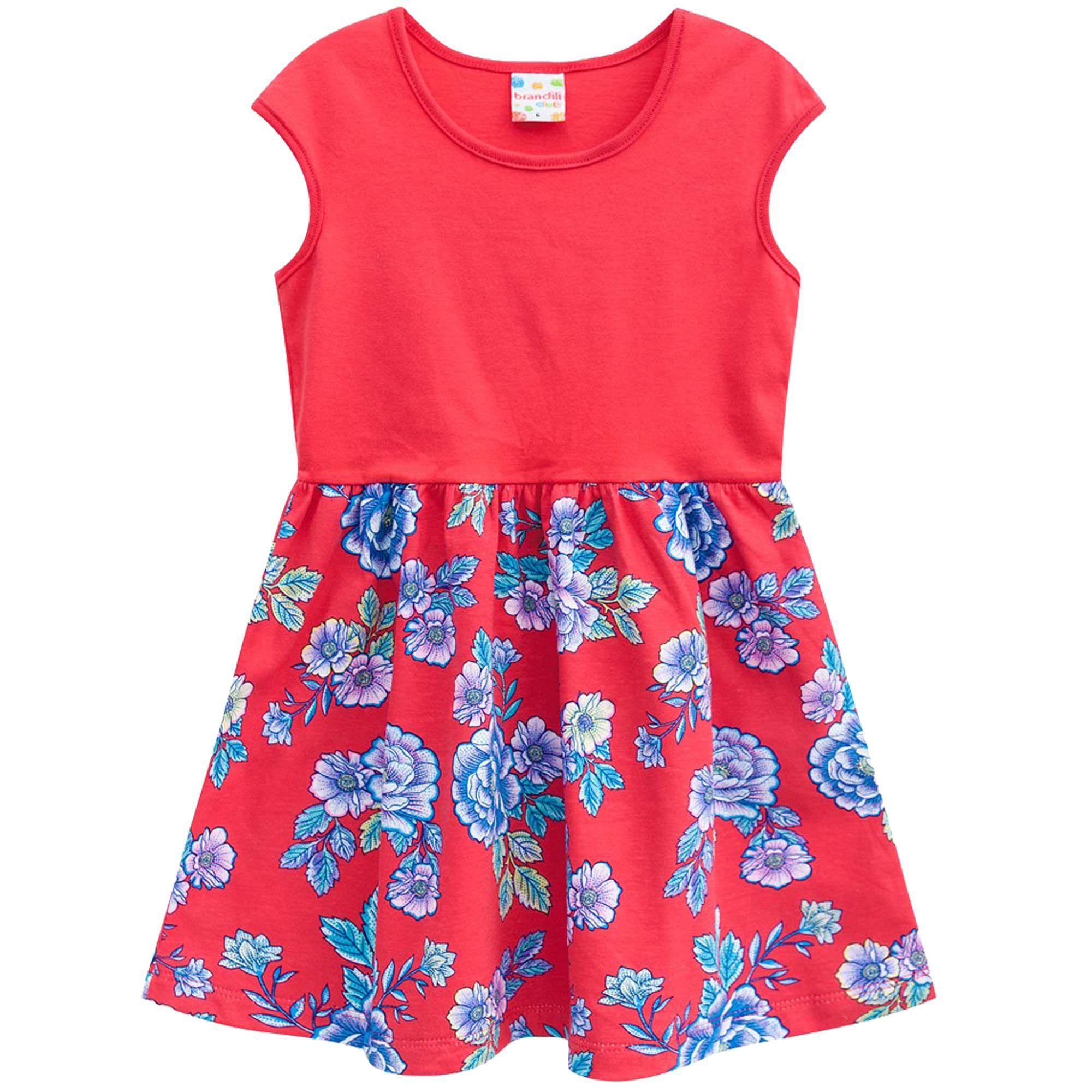 Vestido Verão Brandili Club Floral - 12 ao 16