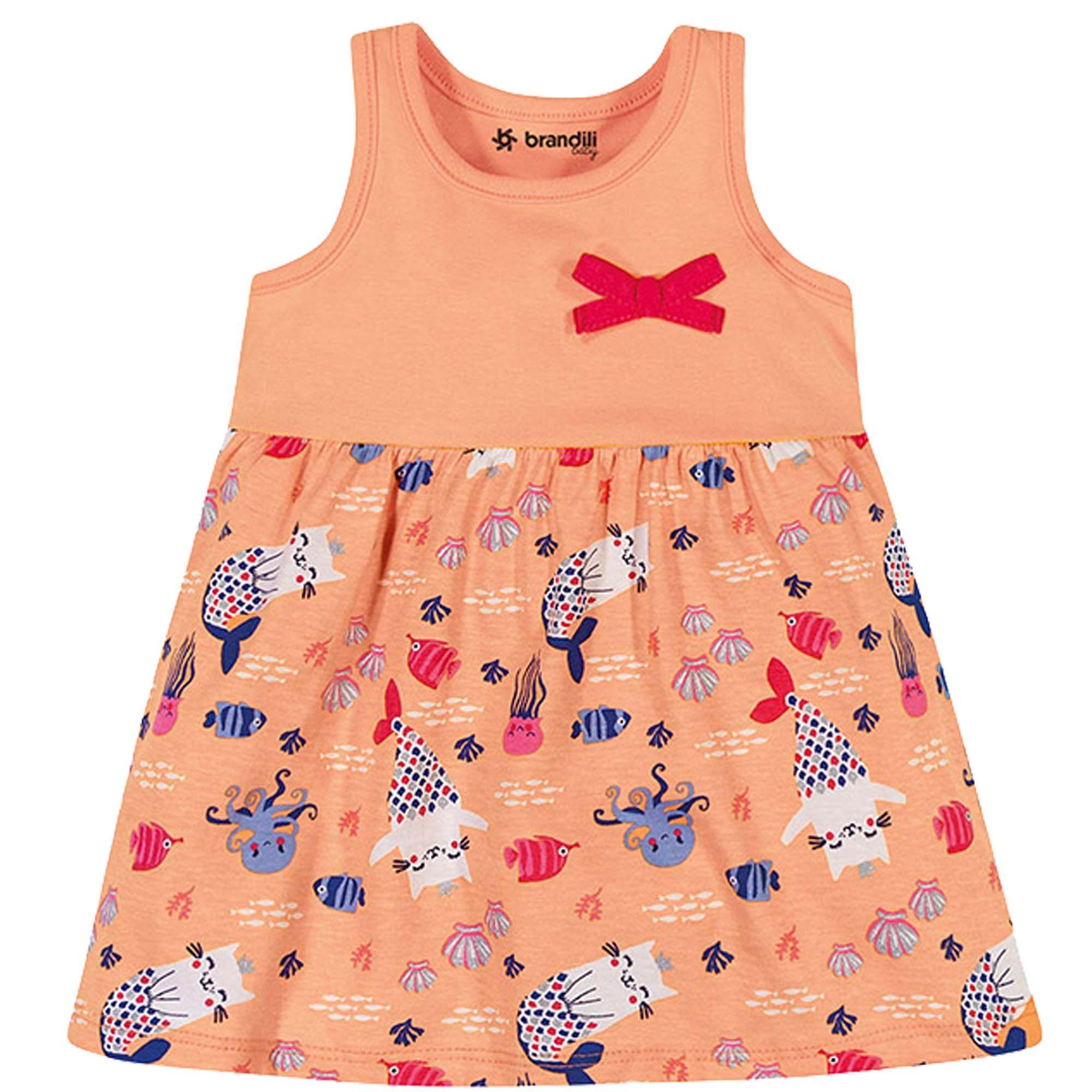 Vestido Brandili Baby Meia Malha - P ao G