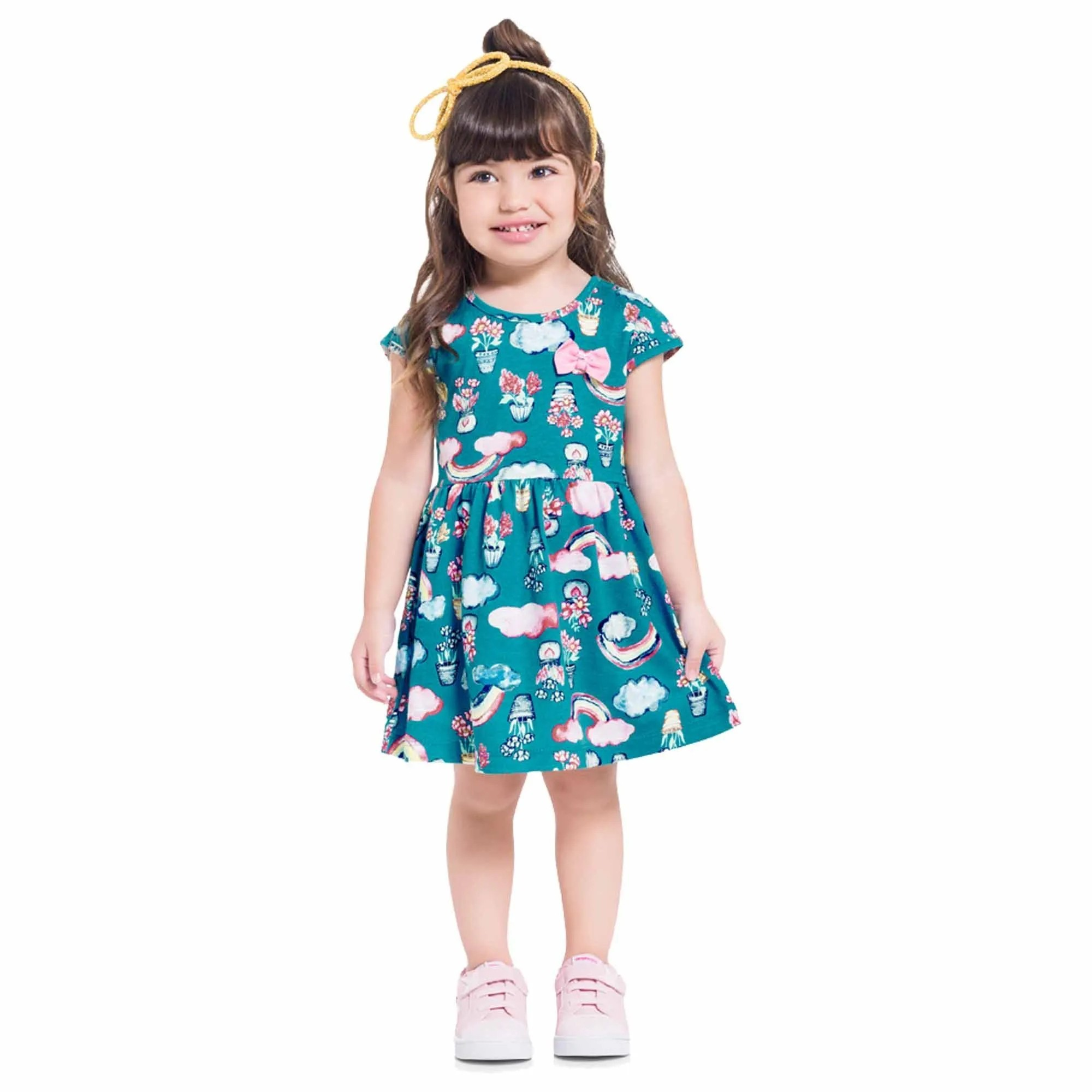 Vestido Verão Brandili Meia Malha - 1 ao 3