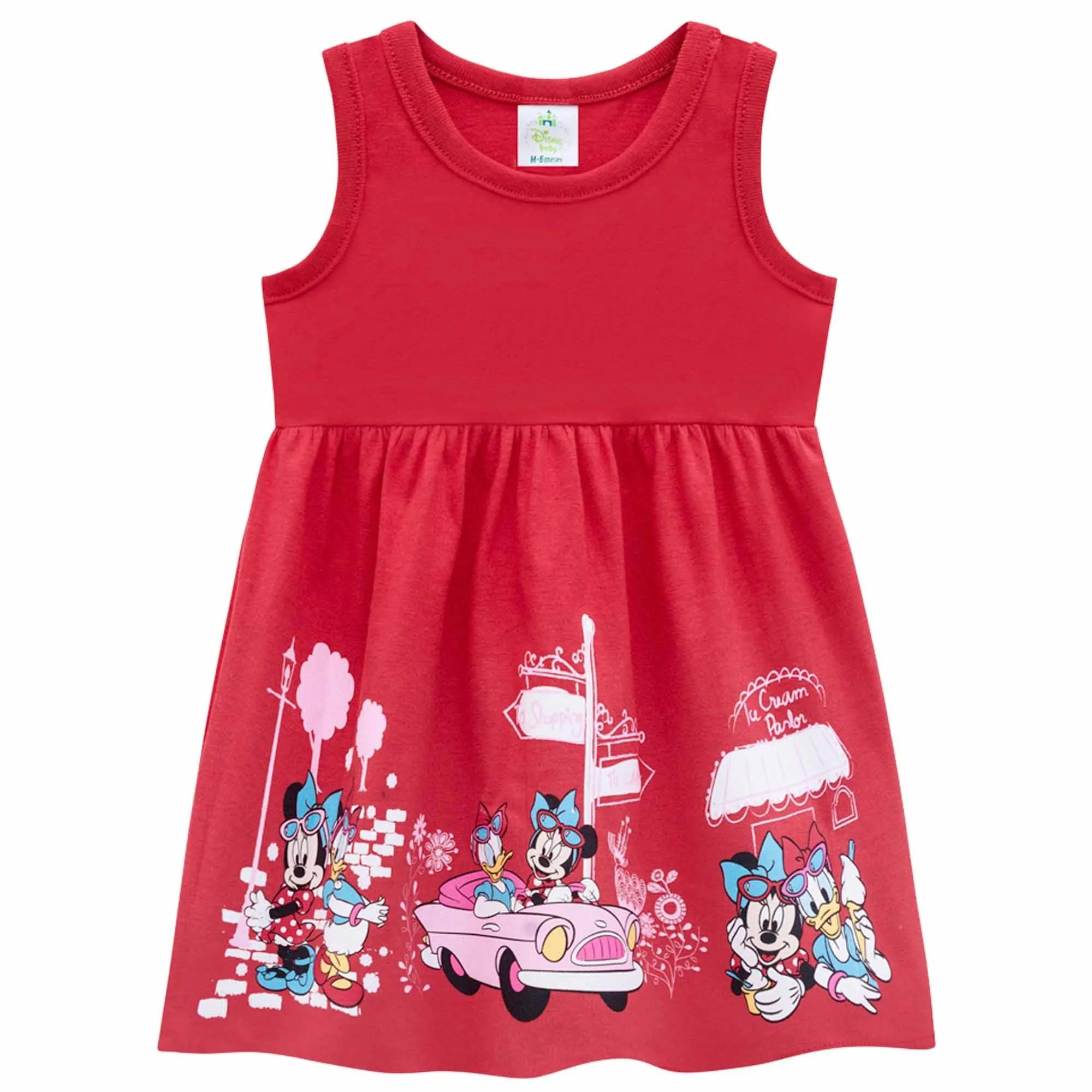 Vestido Verão Brandili  Minnie Baby - P ao G