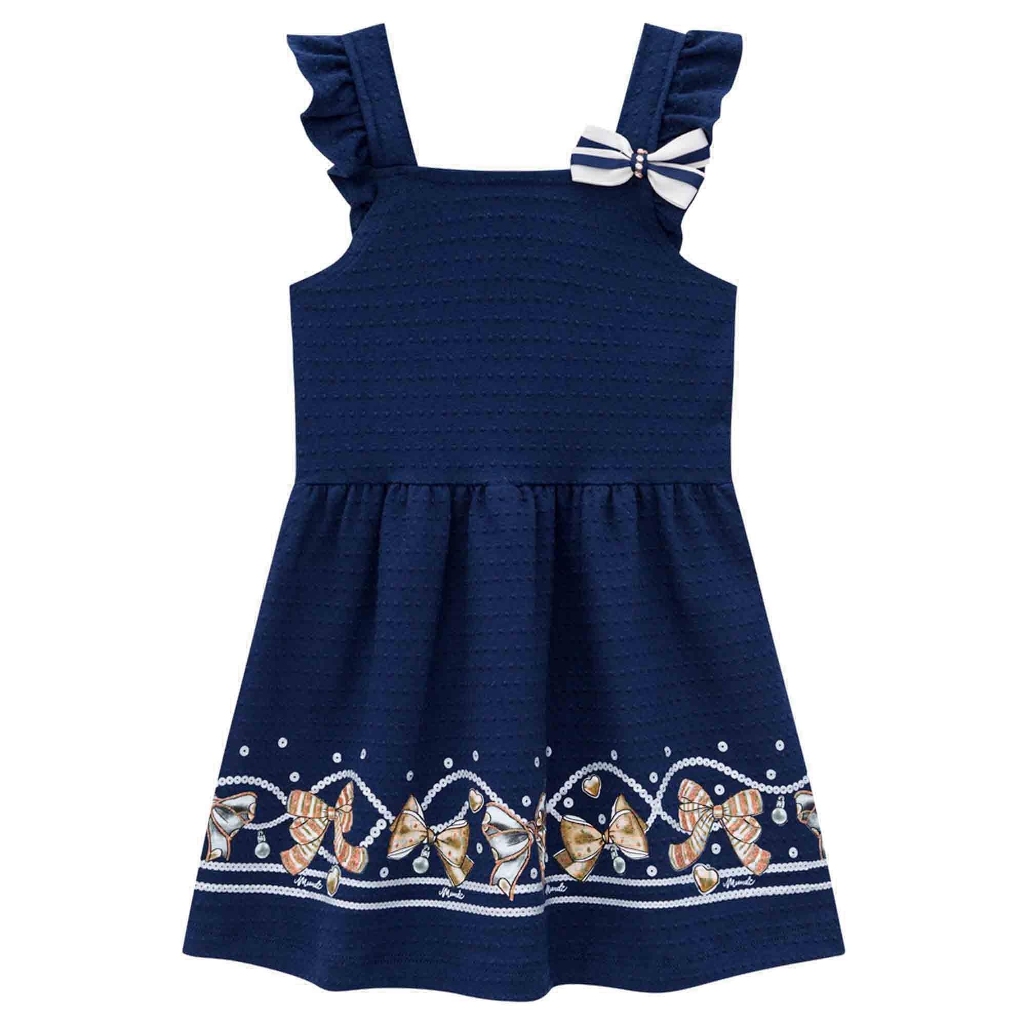 Vestido Verão Brandili Mundi Laços - 1 ao 3