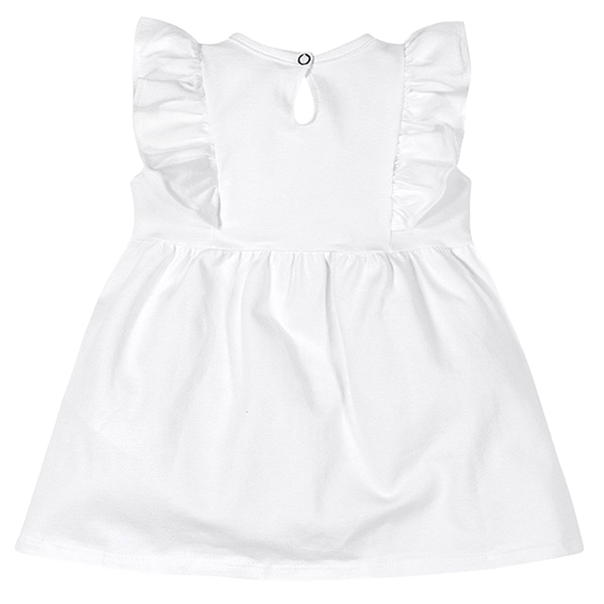 Vestido Brandili Baby Estampa Ramalhete Flores - P ao G